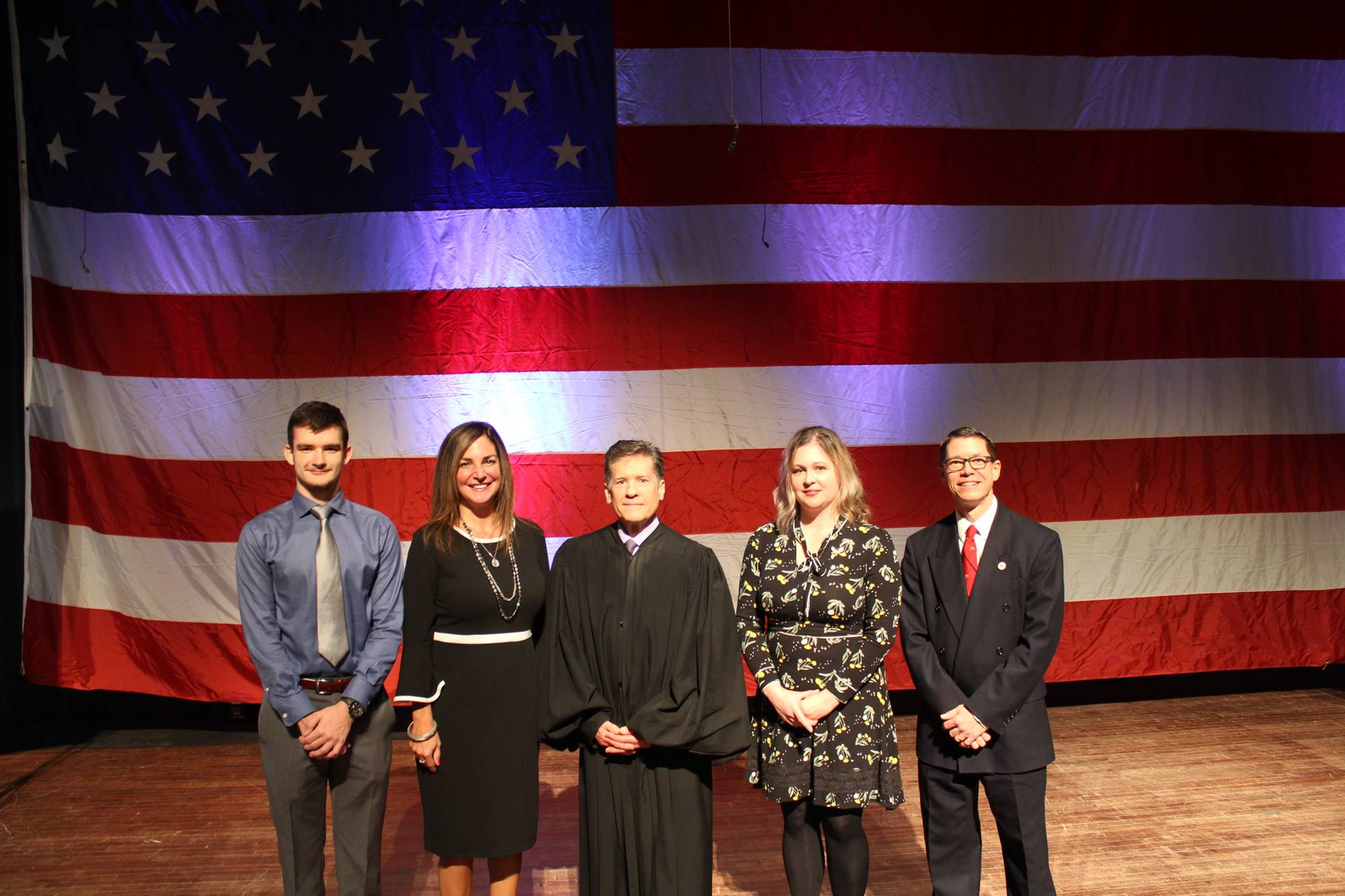 Naturalization ceremony speakers for November 22nd