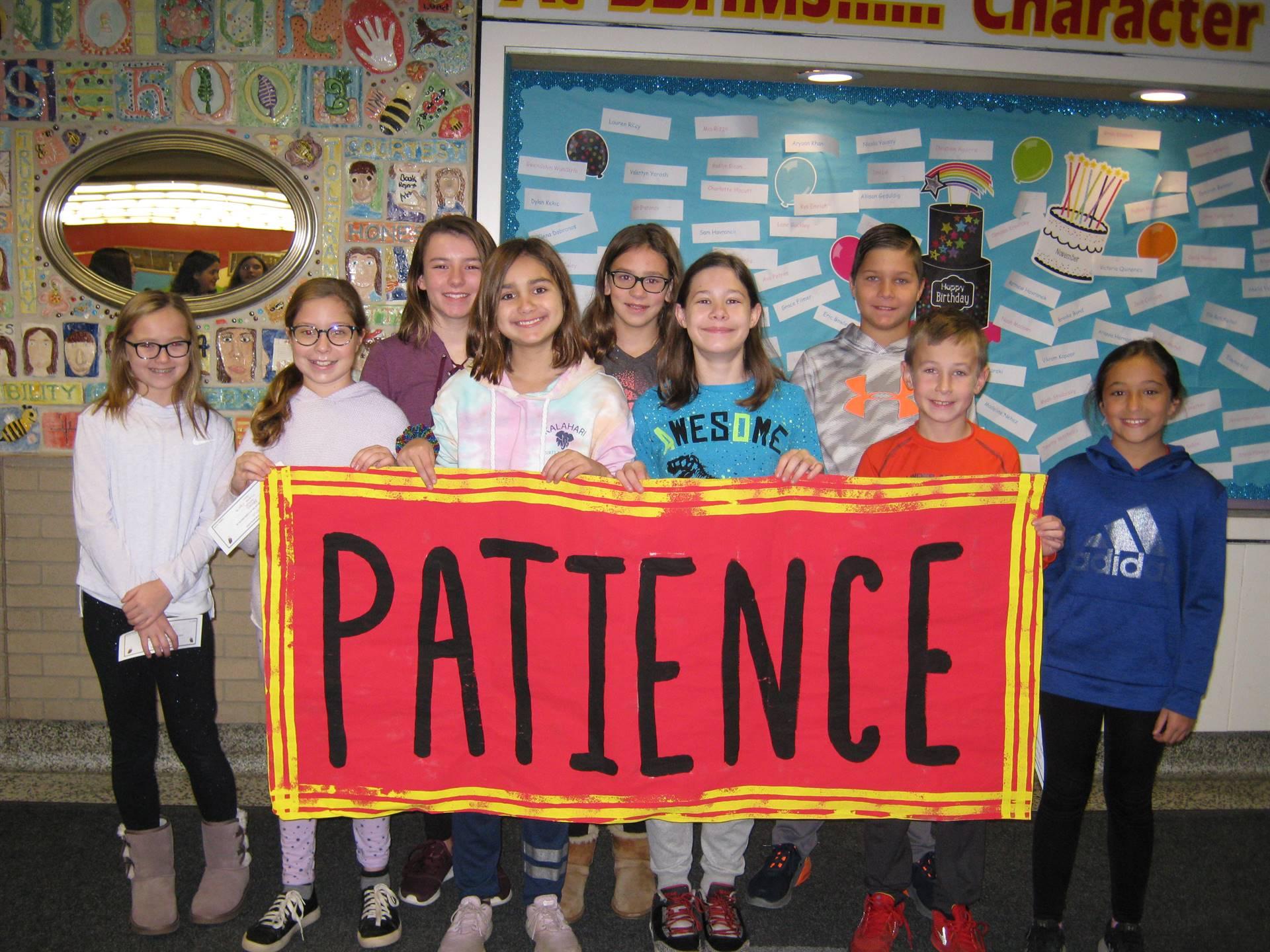 Patience theme