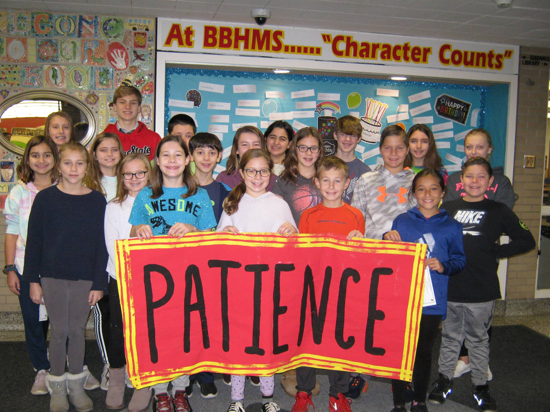 patience theme all