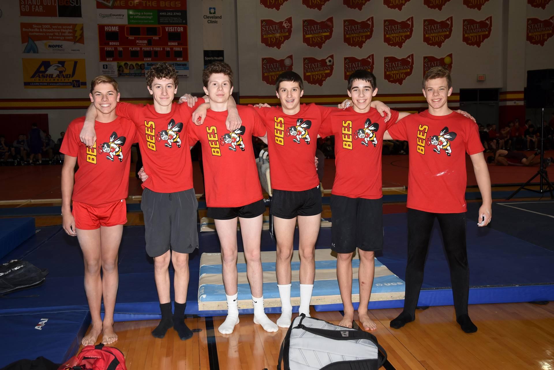 Mens Gymnastics Team