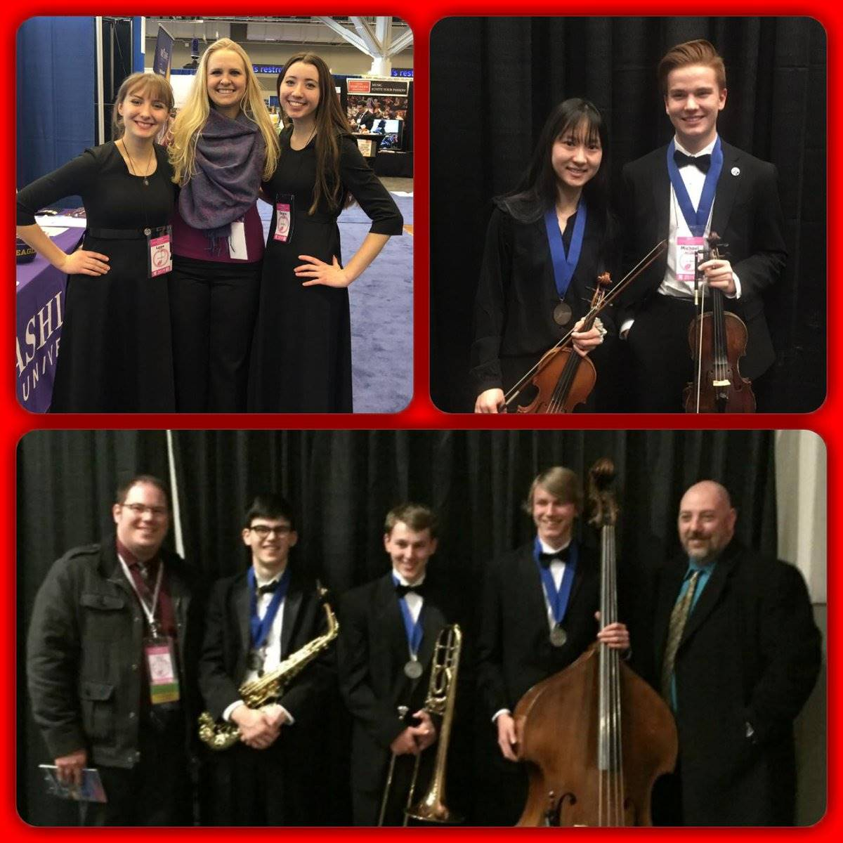 All State musicians at OMEA convention in Cleveland