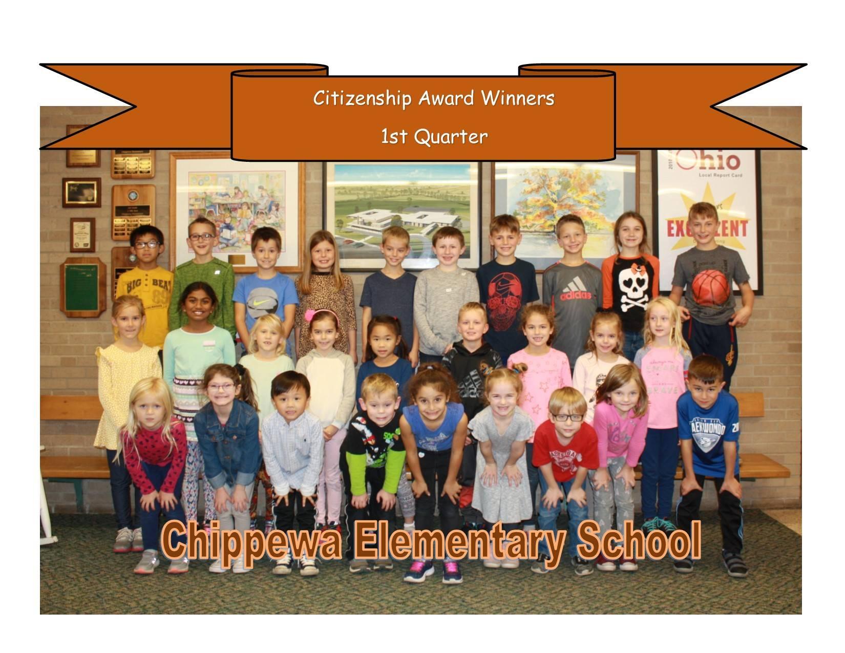 Principal's Spotlight Recipients - First Quarter