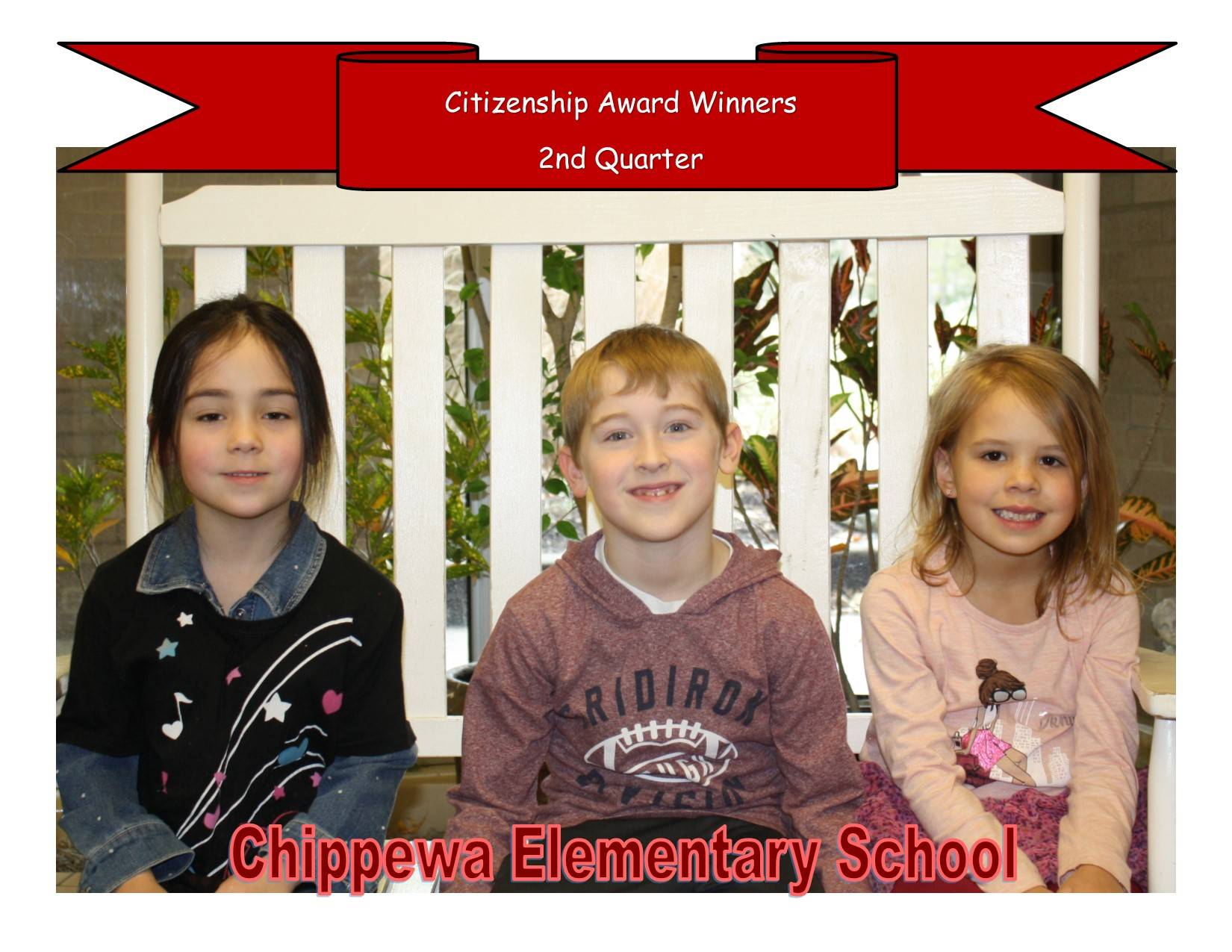 Principal's Spotlight Recipients - Second Quarter