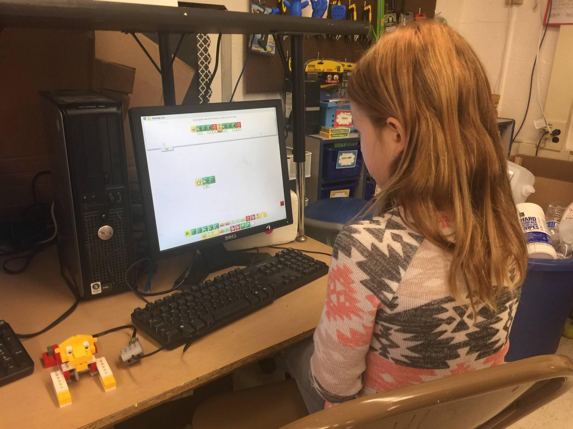 Computer Coding at Highland Drive