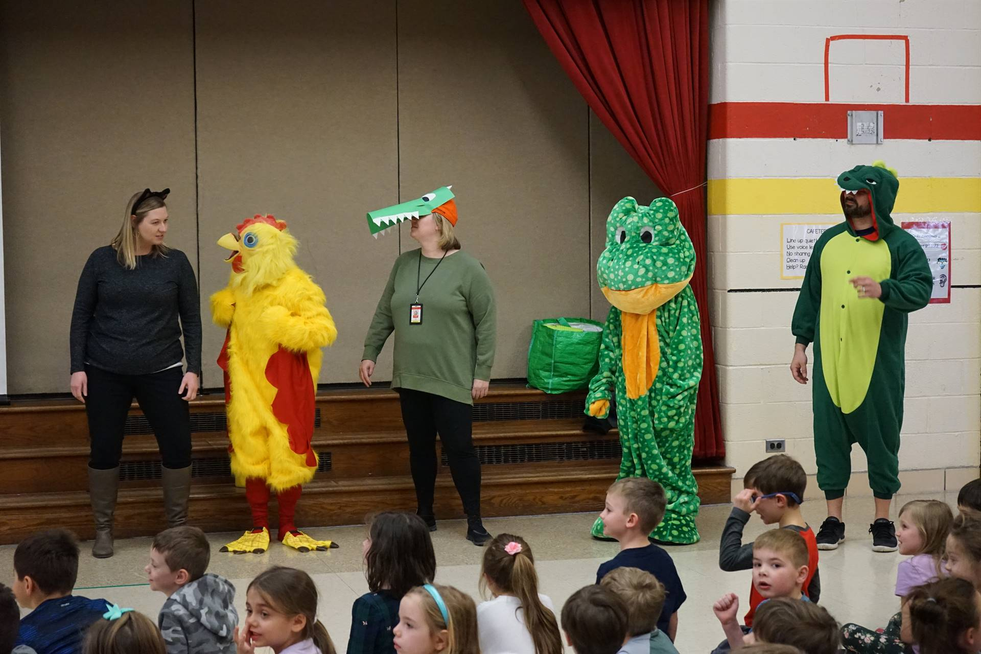 One School, One Book Assembly