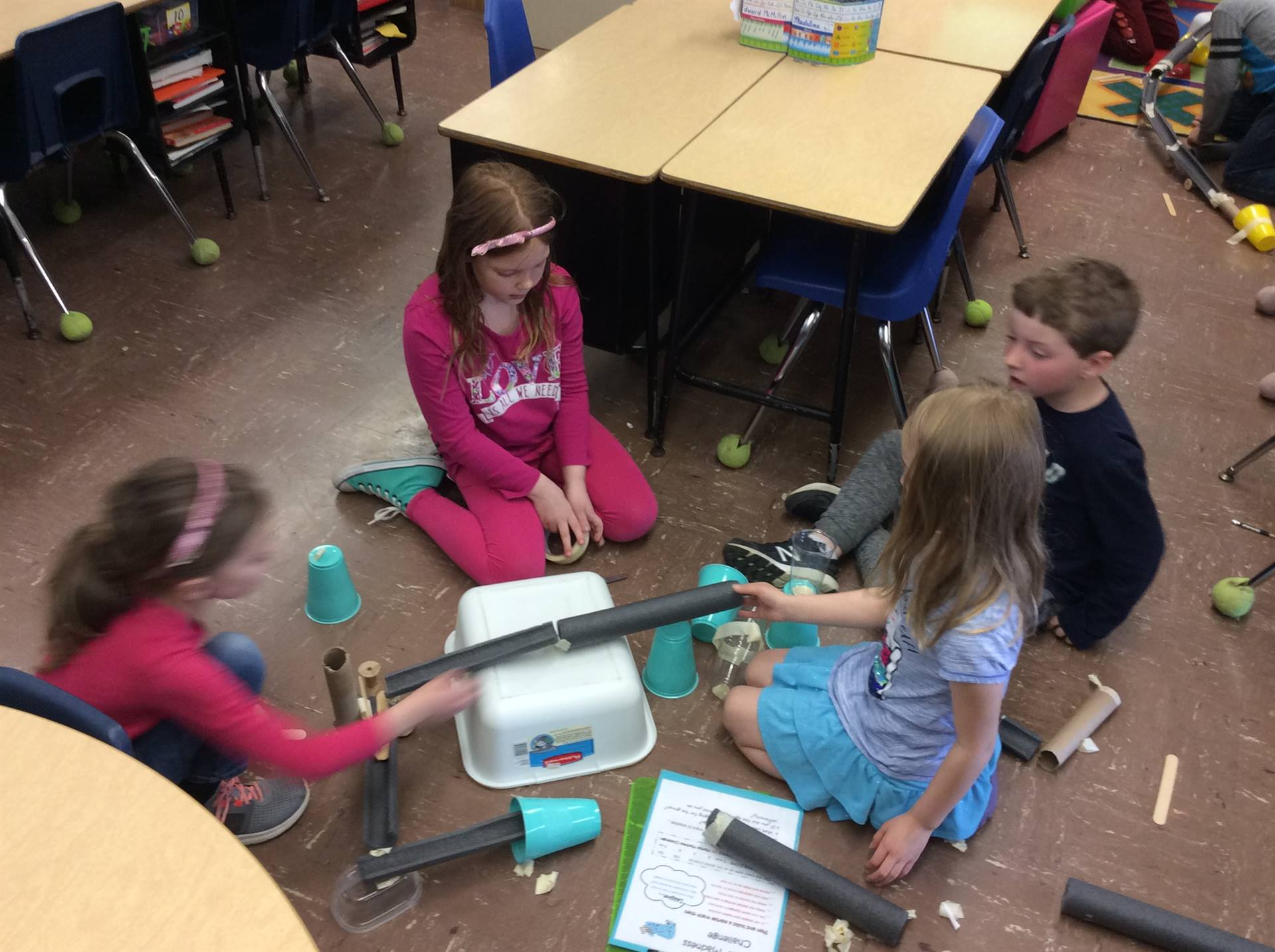 Forces and Motion STEM Activities