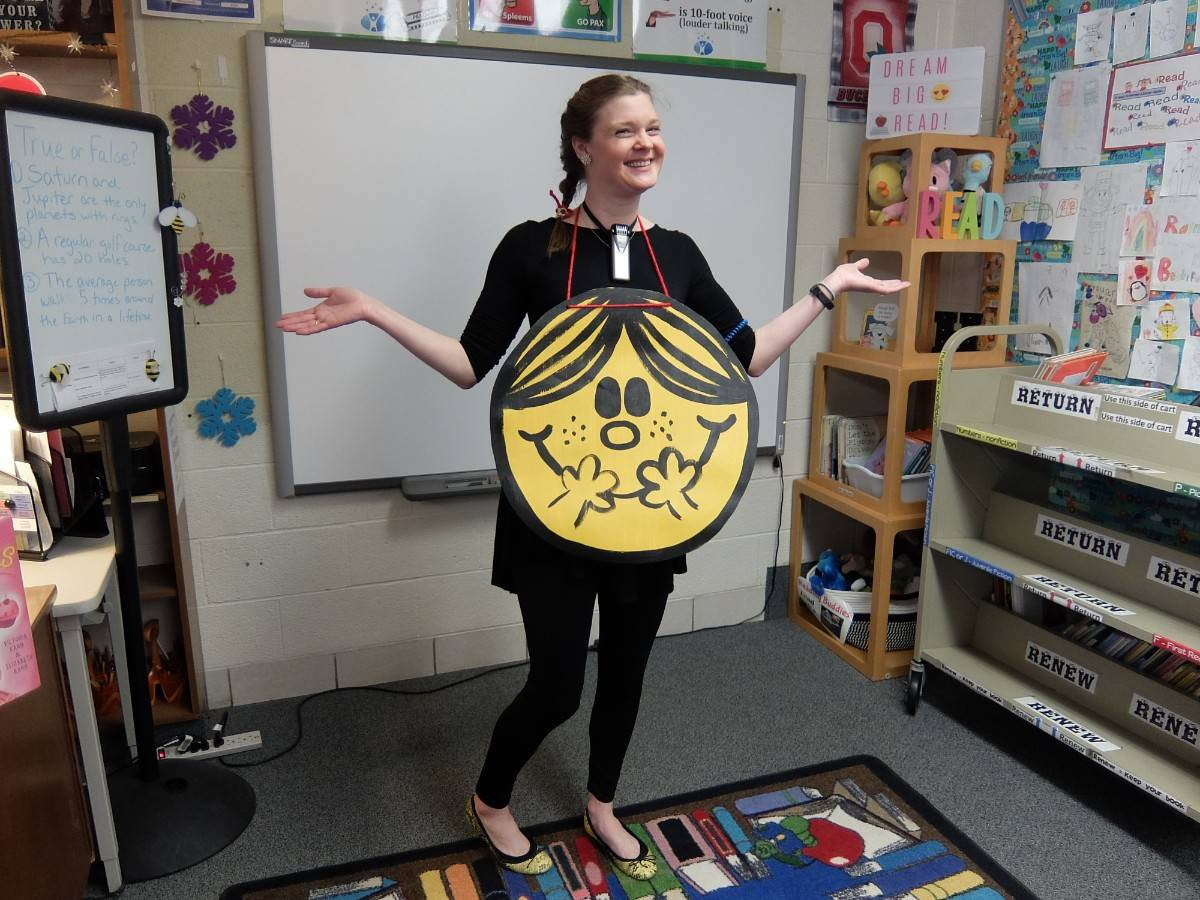 Nutty About Books: Dress as favorite literary character 18