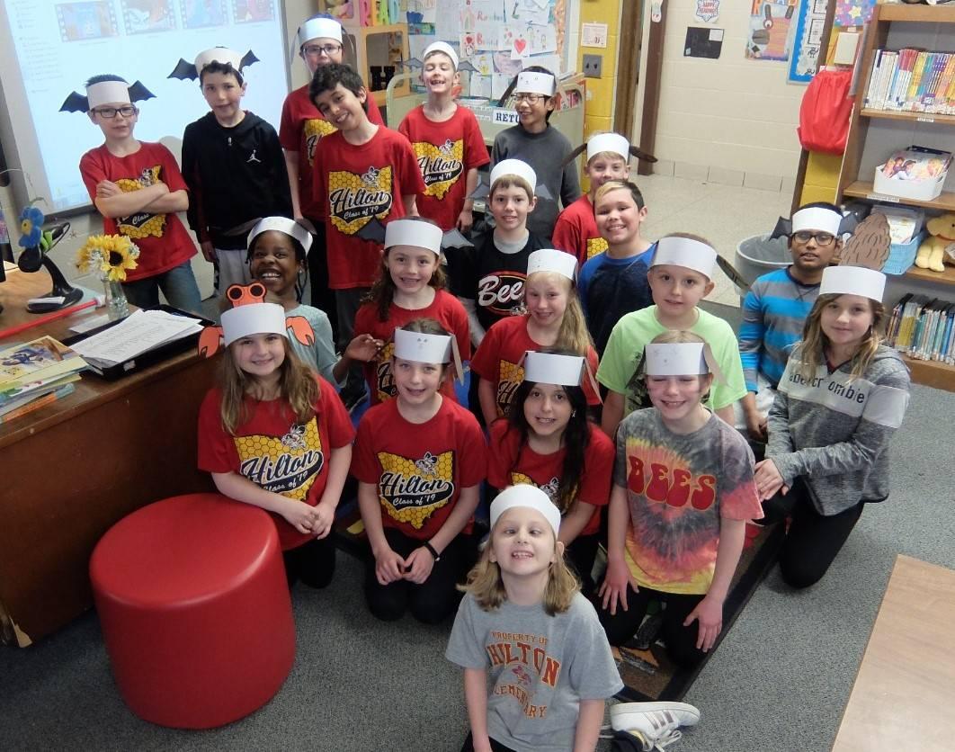 Gooseberry Park character headbands and Hilton Spirit Day 14