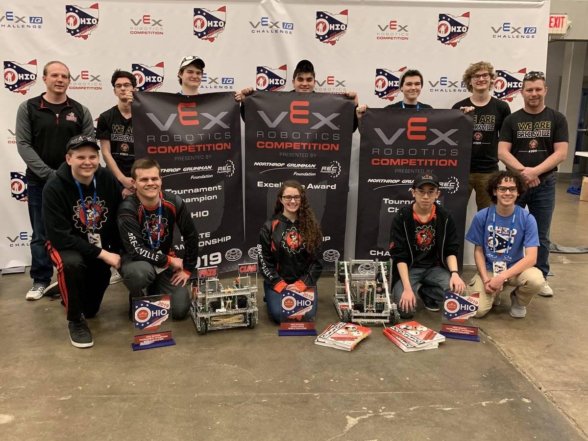 State Champion Robotics Team 2019