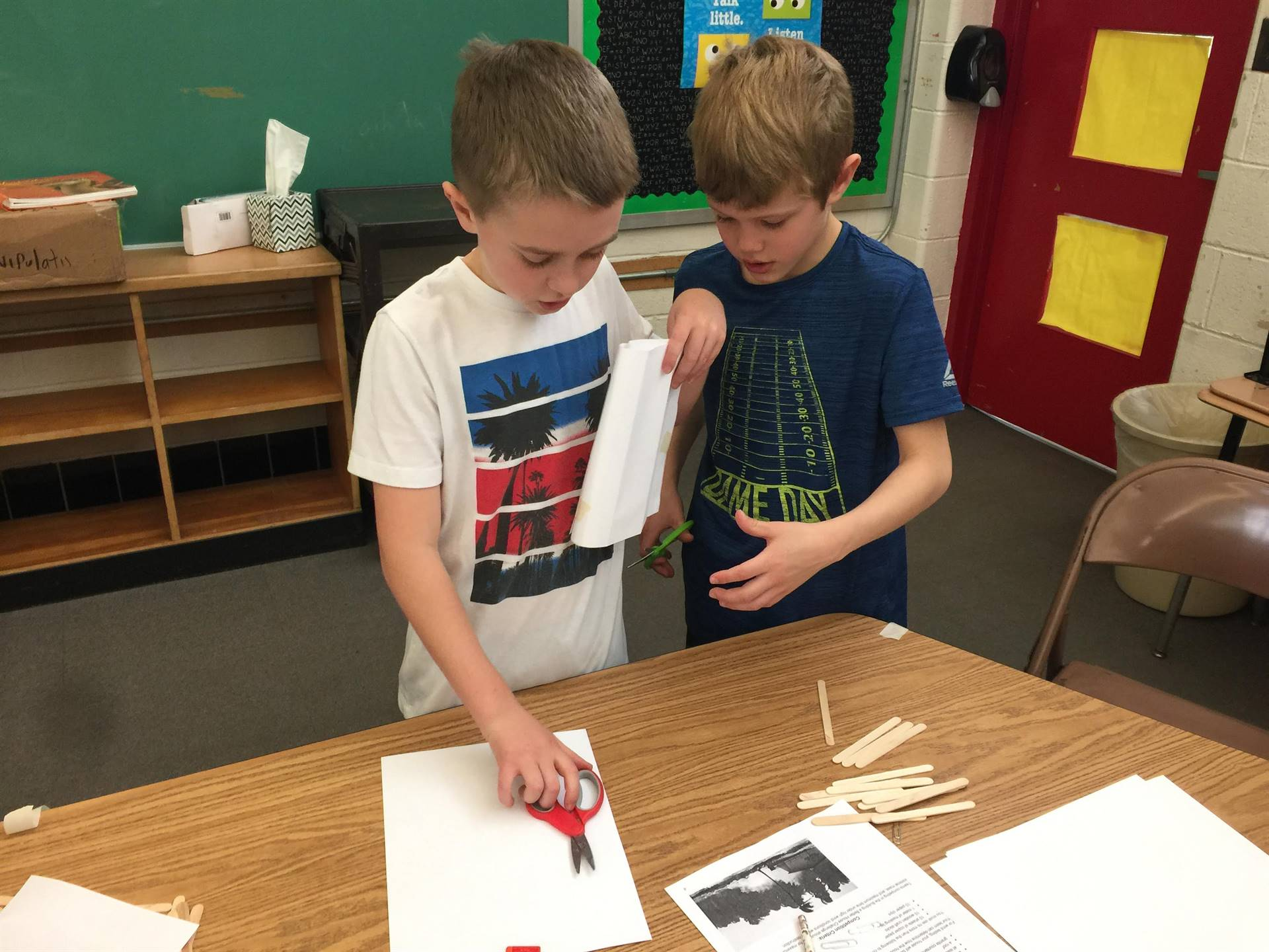 Tornado Challenge 3rd Grade STEM Challenge