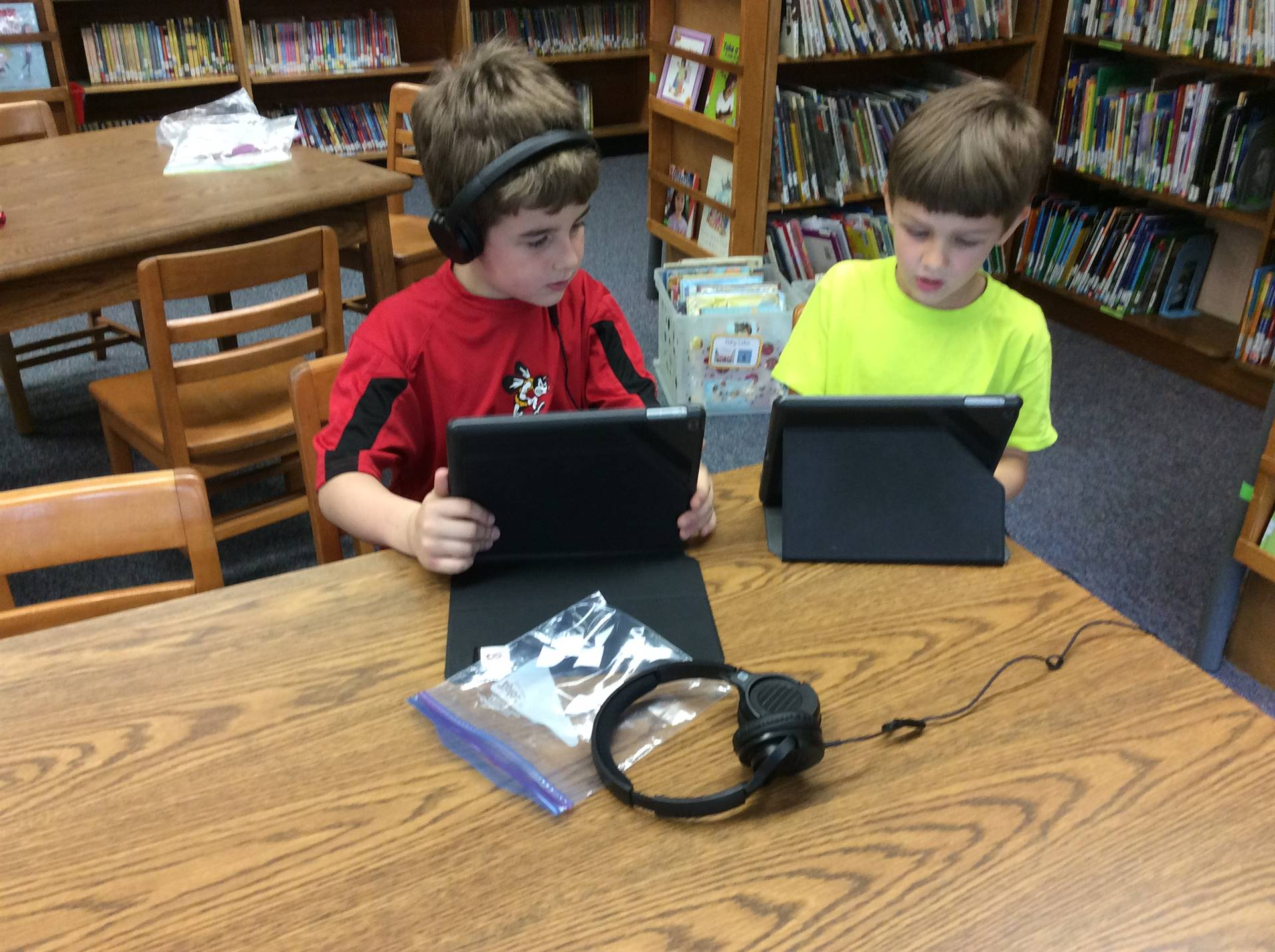 Learning in the Media Center