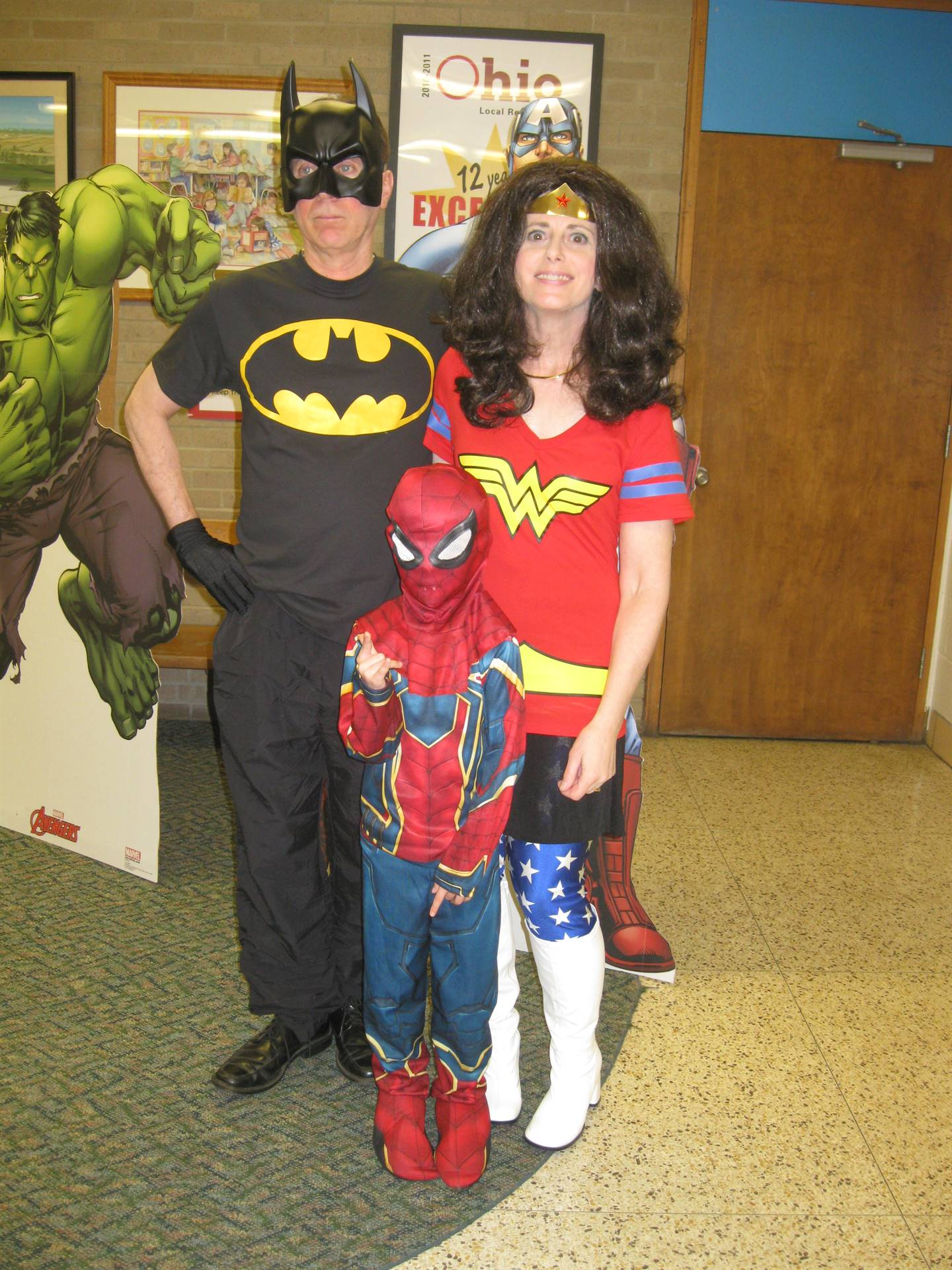 Chippewa Super Hero Art Show