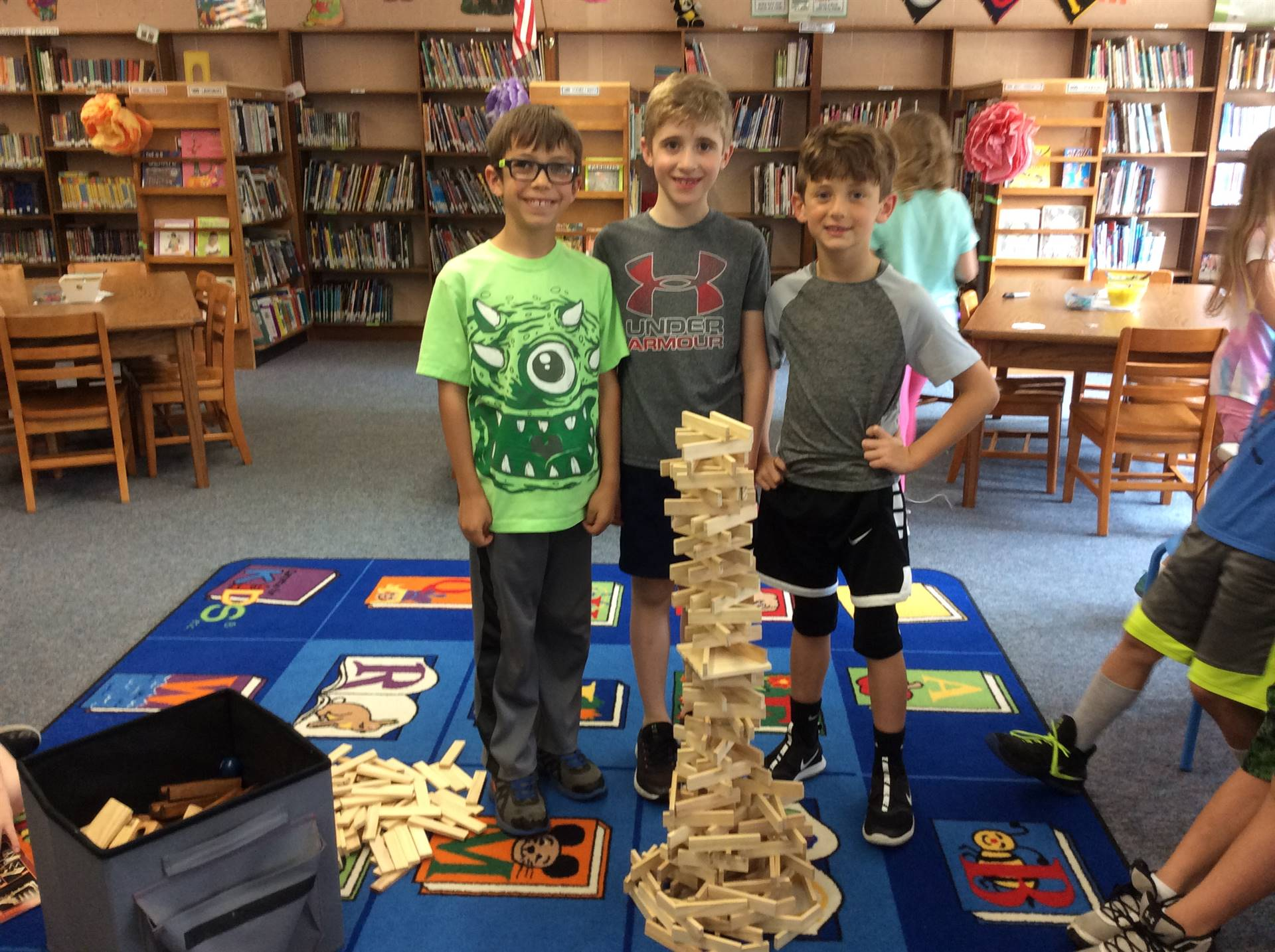 Future Engineers with Keva Blocks