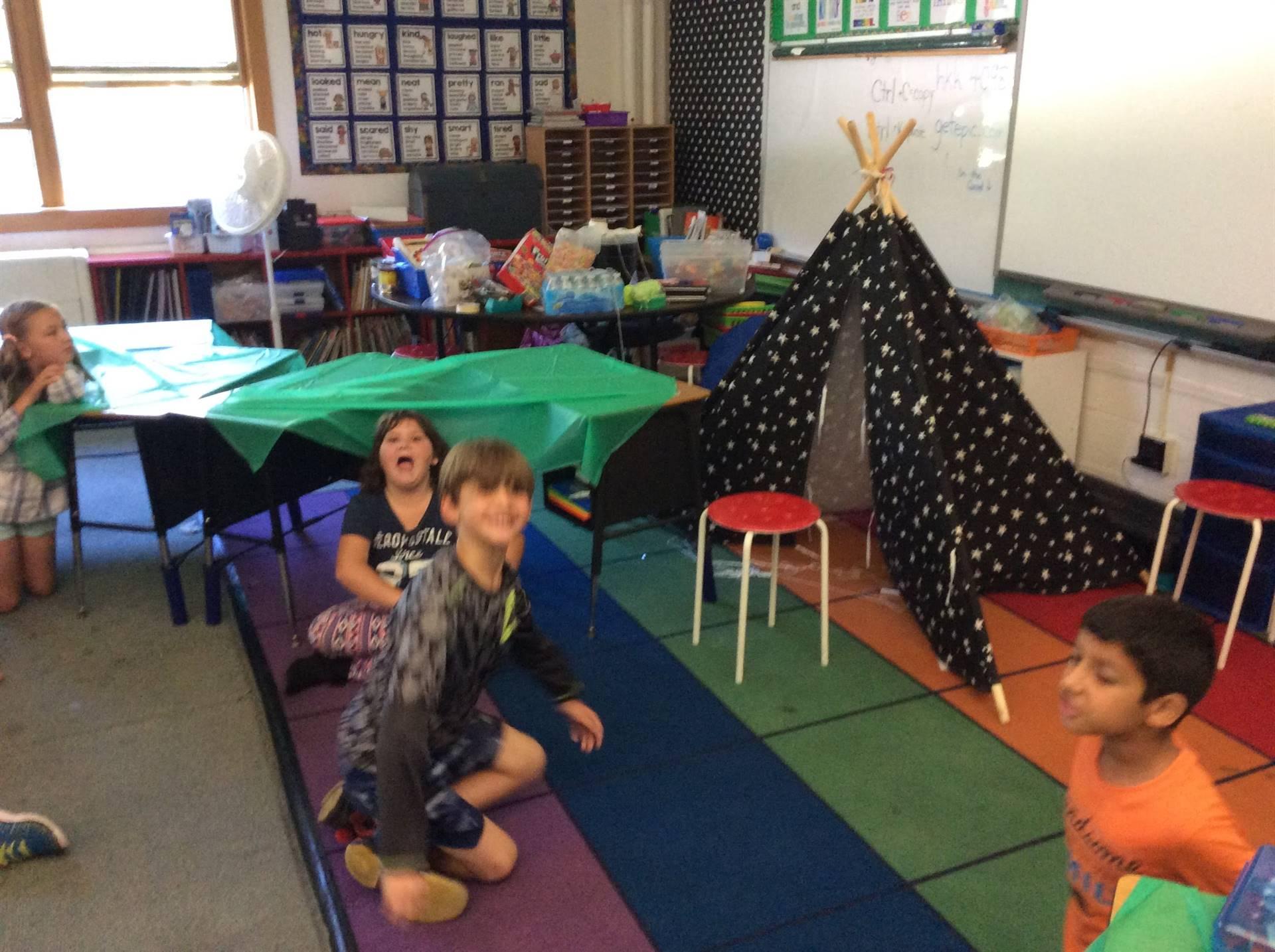 Camping Day 3rd Grade