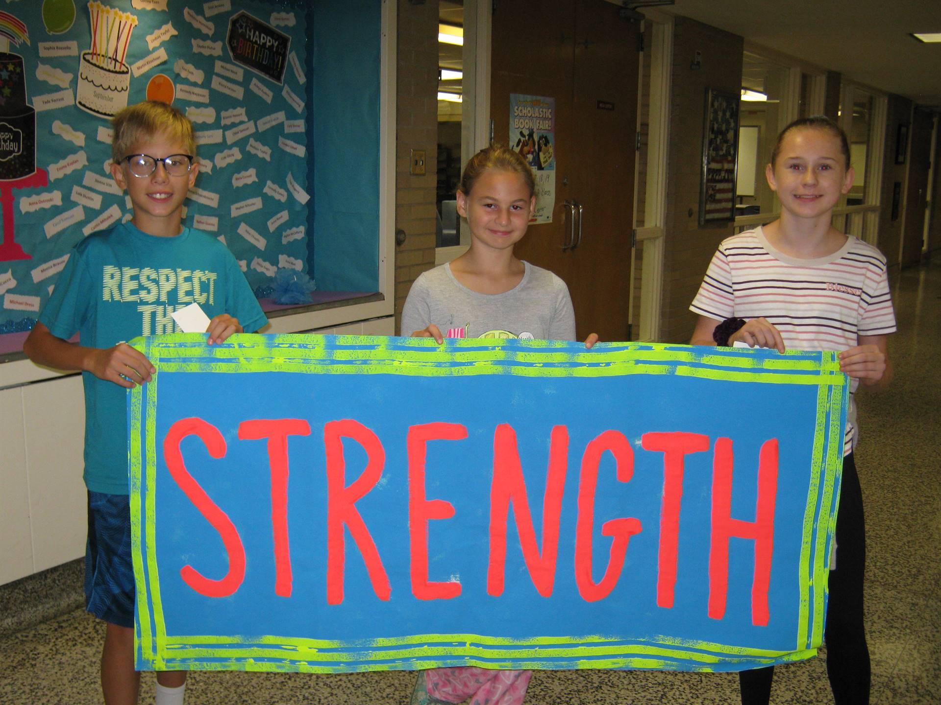 Strength banner 2