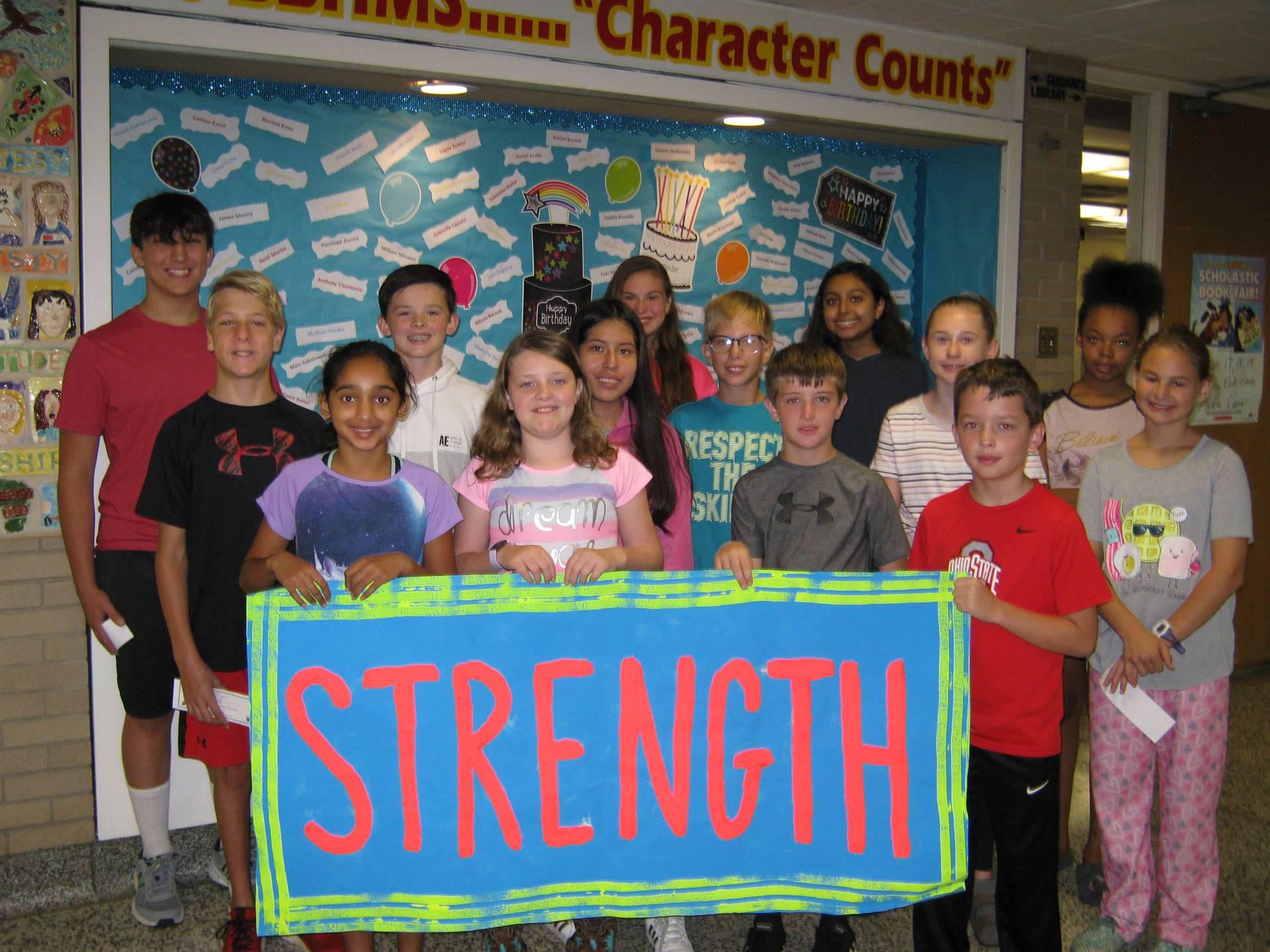 Strength banner 5
