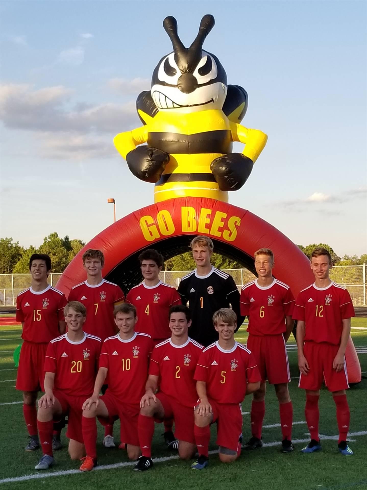 Bees Soccer Senior Night