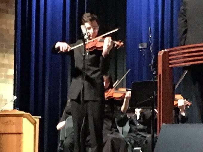 John Galik violin solo