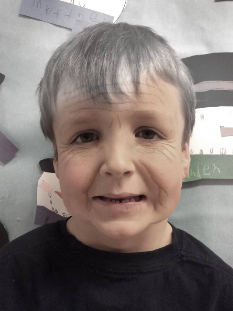 Aged Kindergartener!