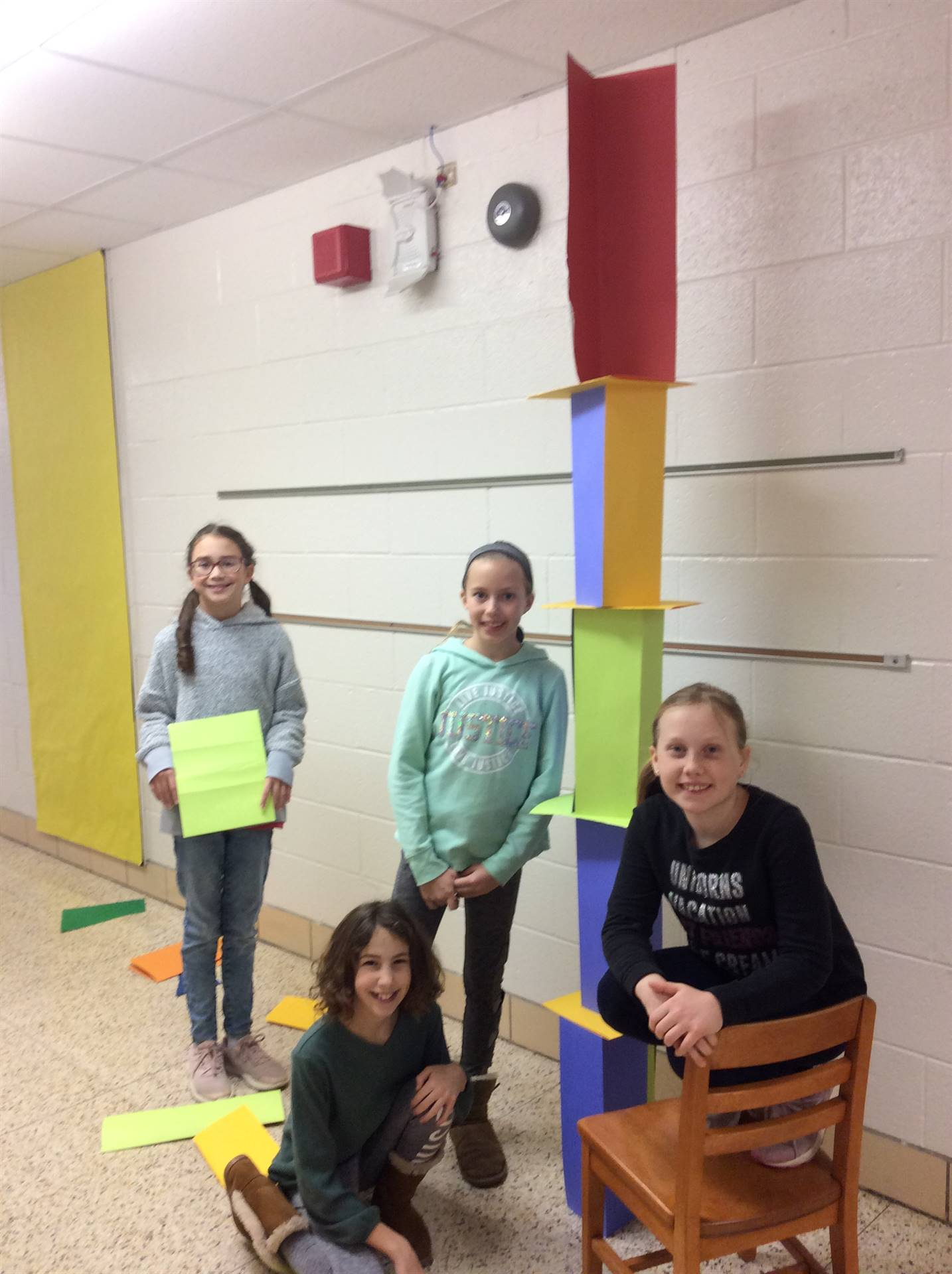 Tallest Paper Tower Challenge