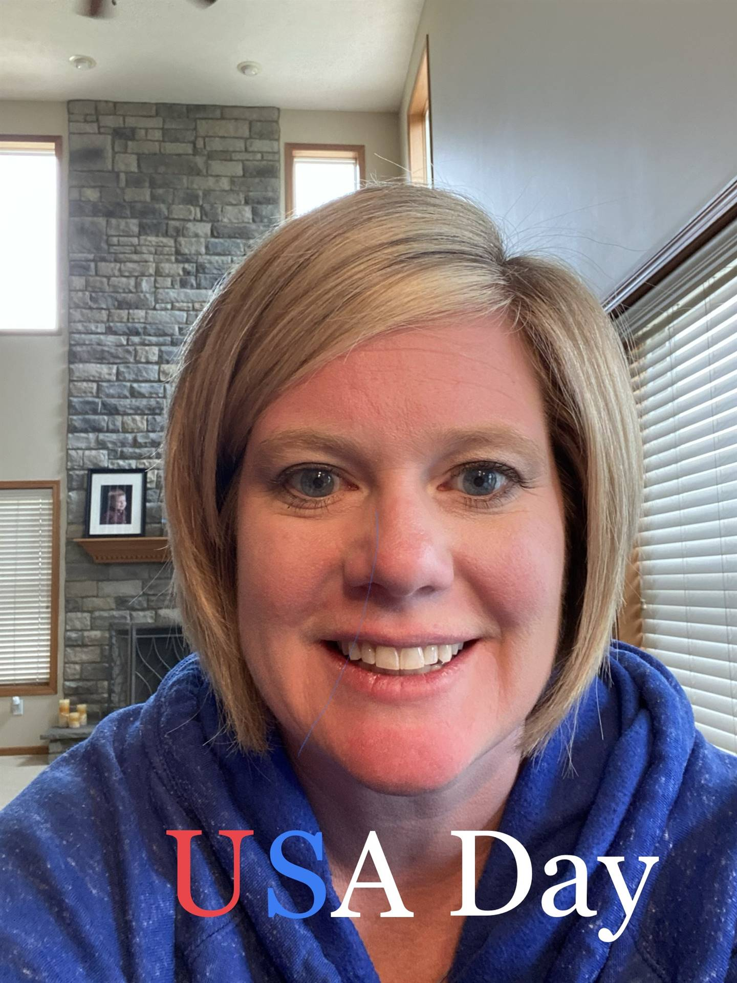 USA Day- Red, White & Blue
