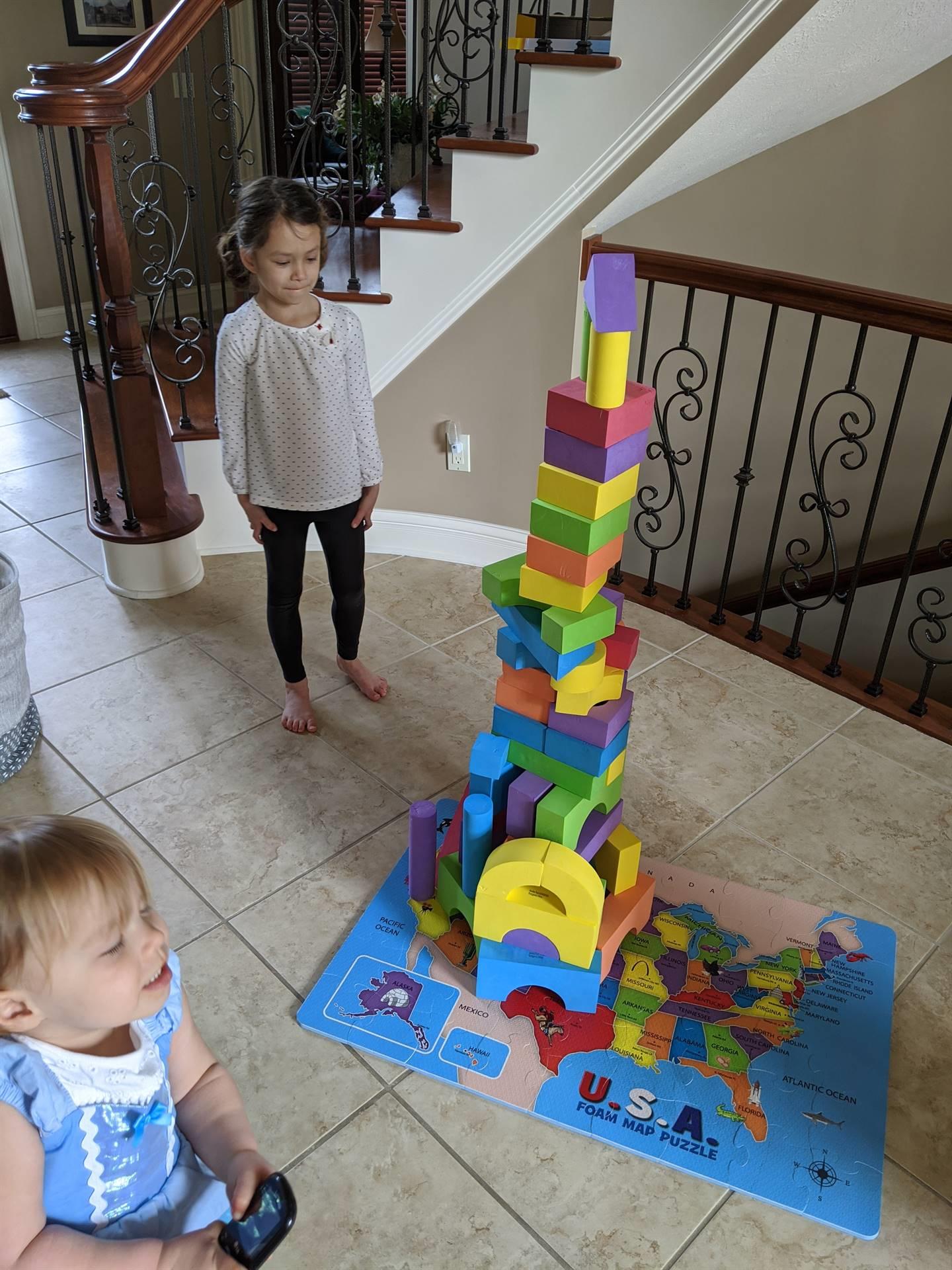 Ms. Kolis Challenge Tower Building