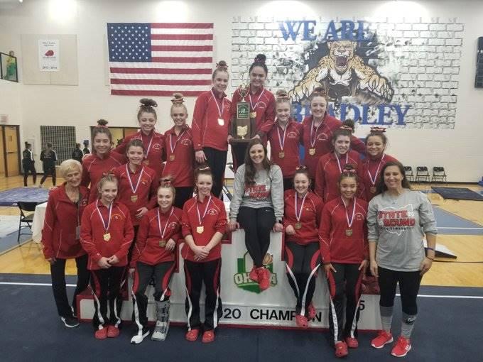State Champion Gymnastics Team