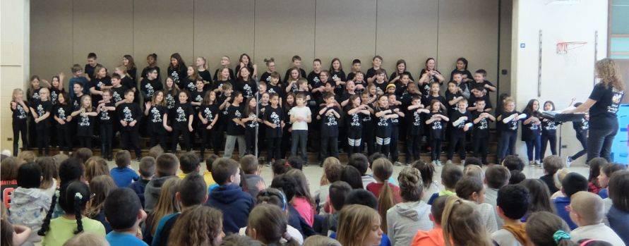3rd Grade Disney Concert 5