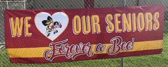 We love our seniors banner