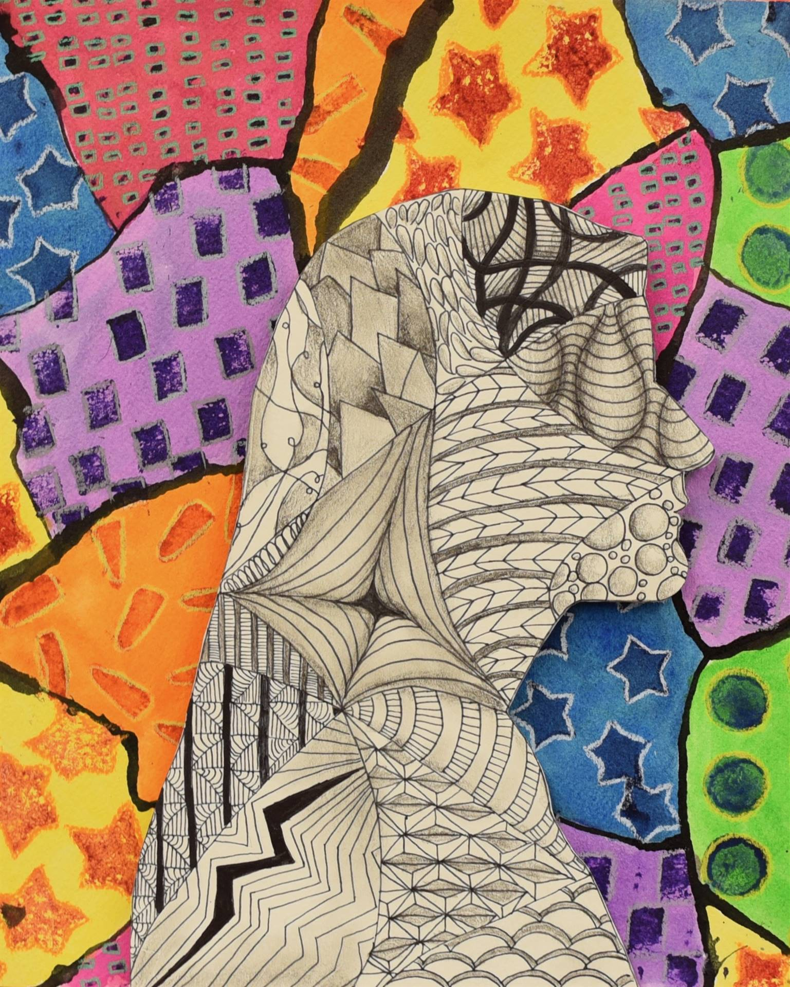 Brecksville-Broadview Hts. Middle School Art Projects 29