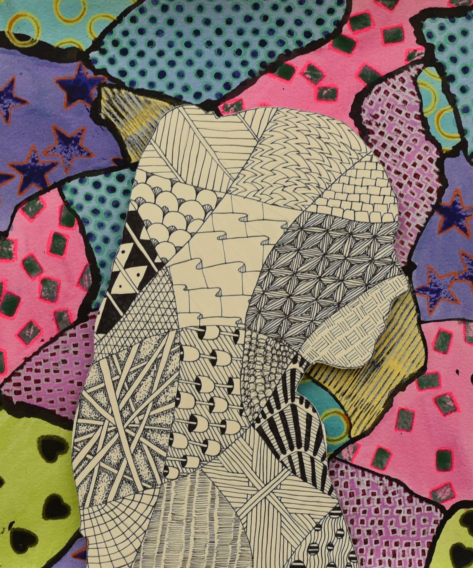 Brecksville-Broadview Hts. Middle School Art Projects 32