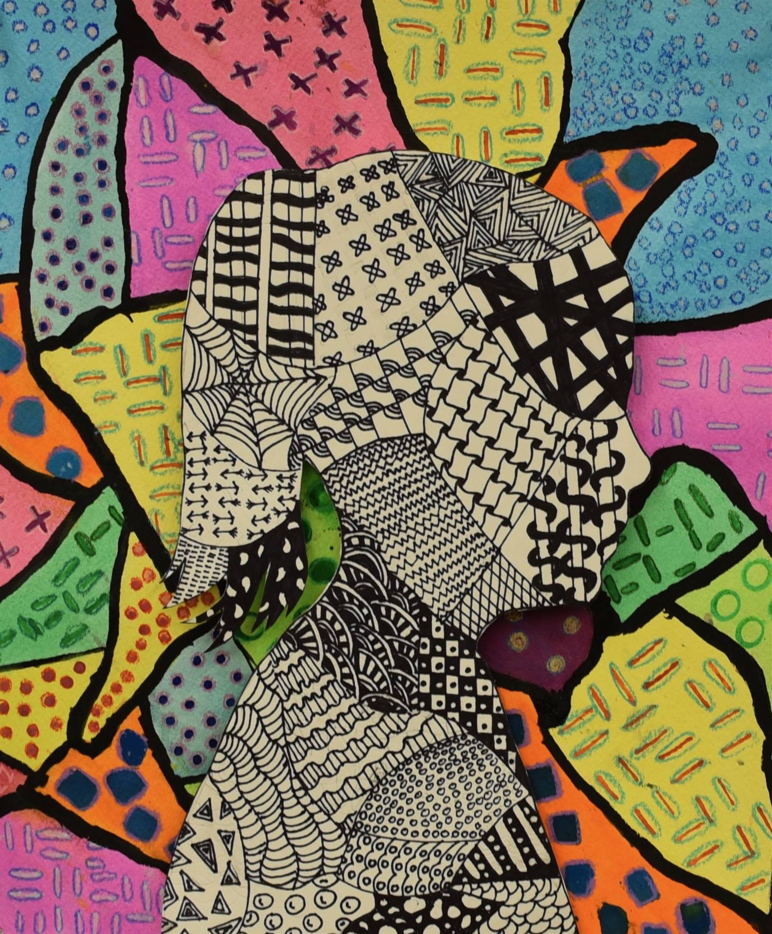 Brecksville-Broadview Hts. Middle School Art Projects 33