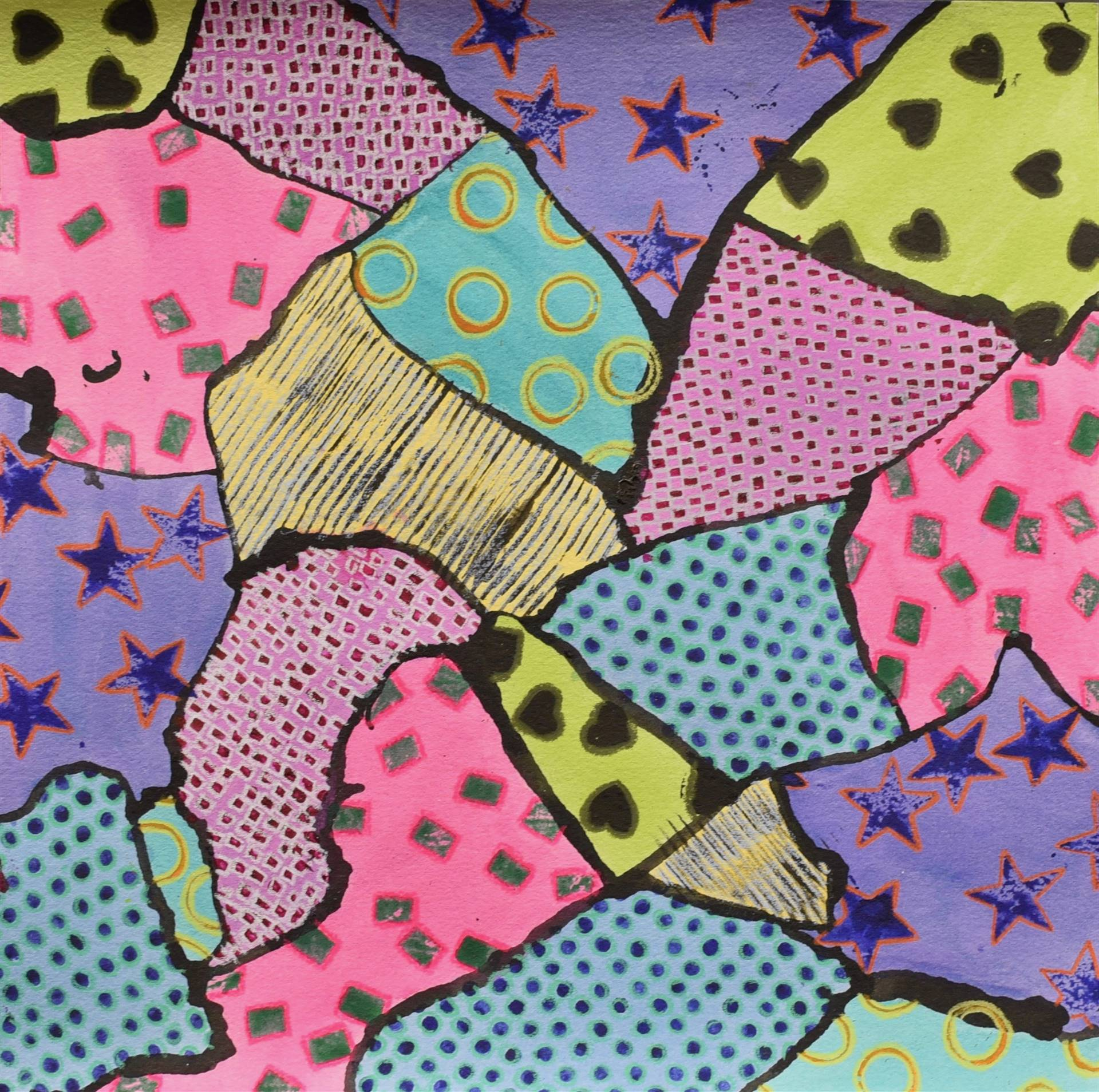 Brecksville-Broadview Hts. Middle School Art Projects 48