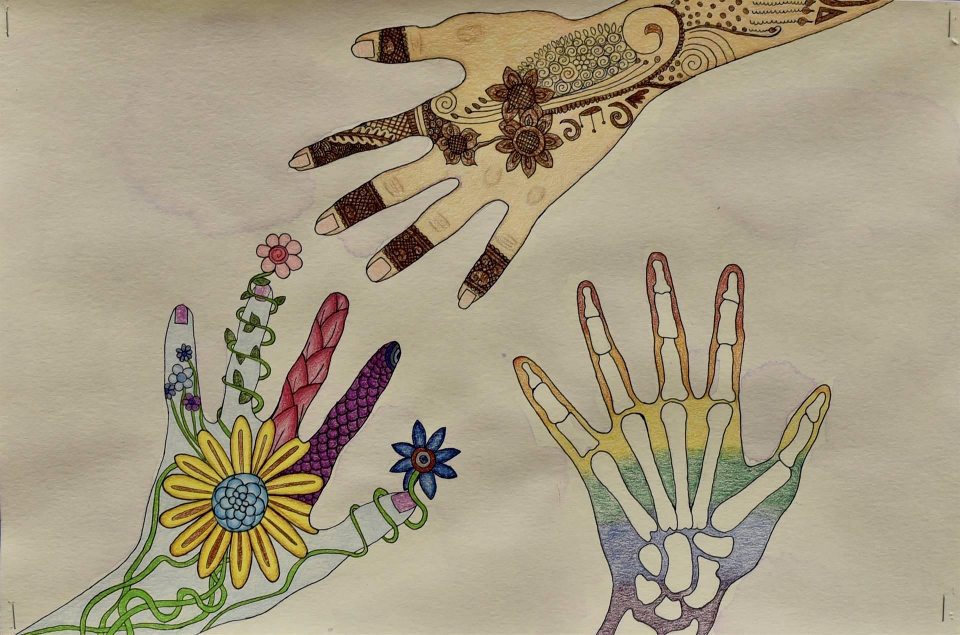 Brecksville-Broadview Hts. Middle School Art Projects 49