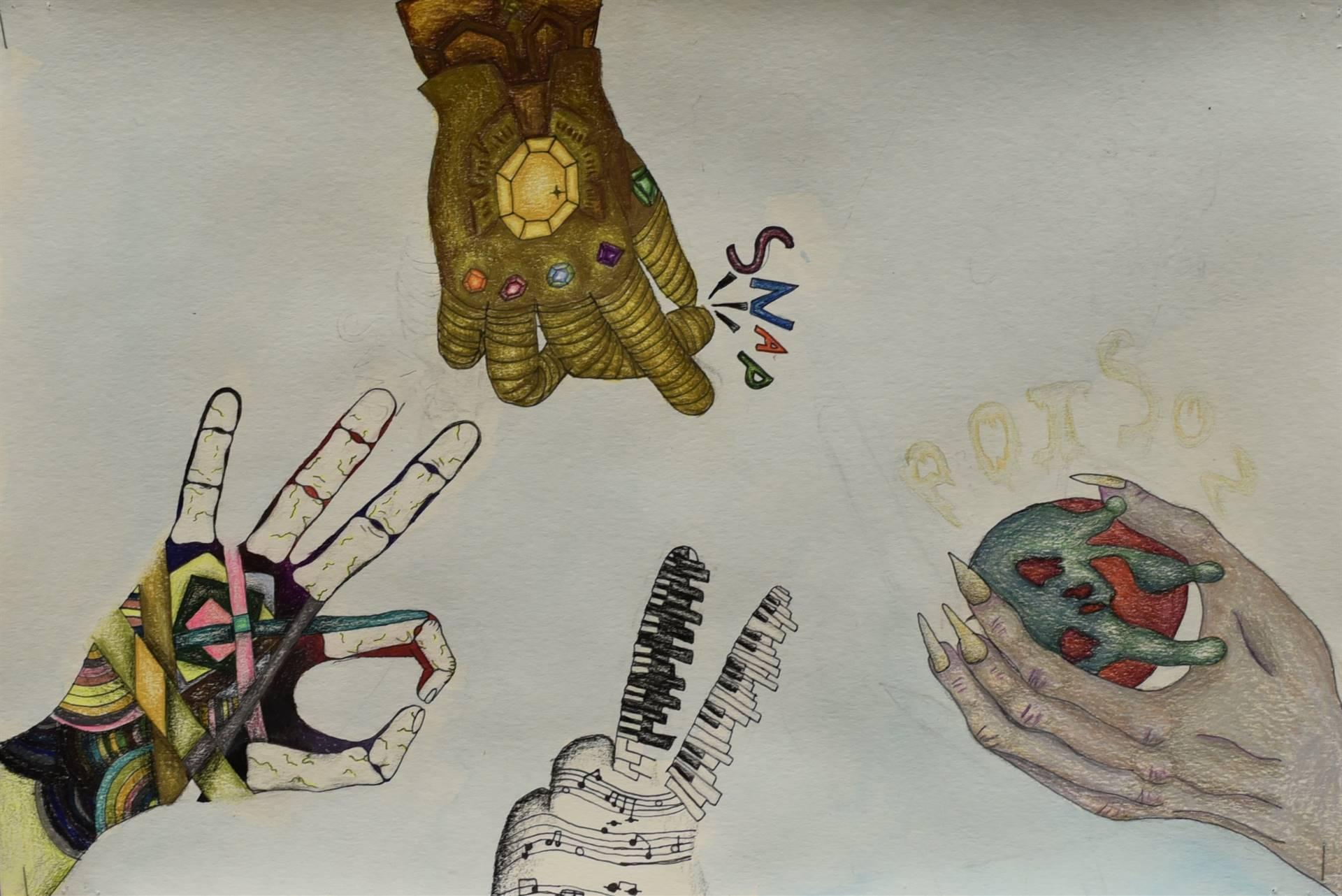 Brecksville-Broadview Hts. Middle School Art Projects 52