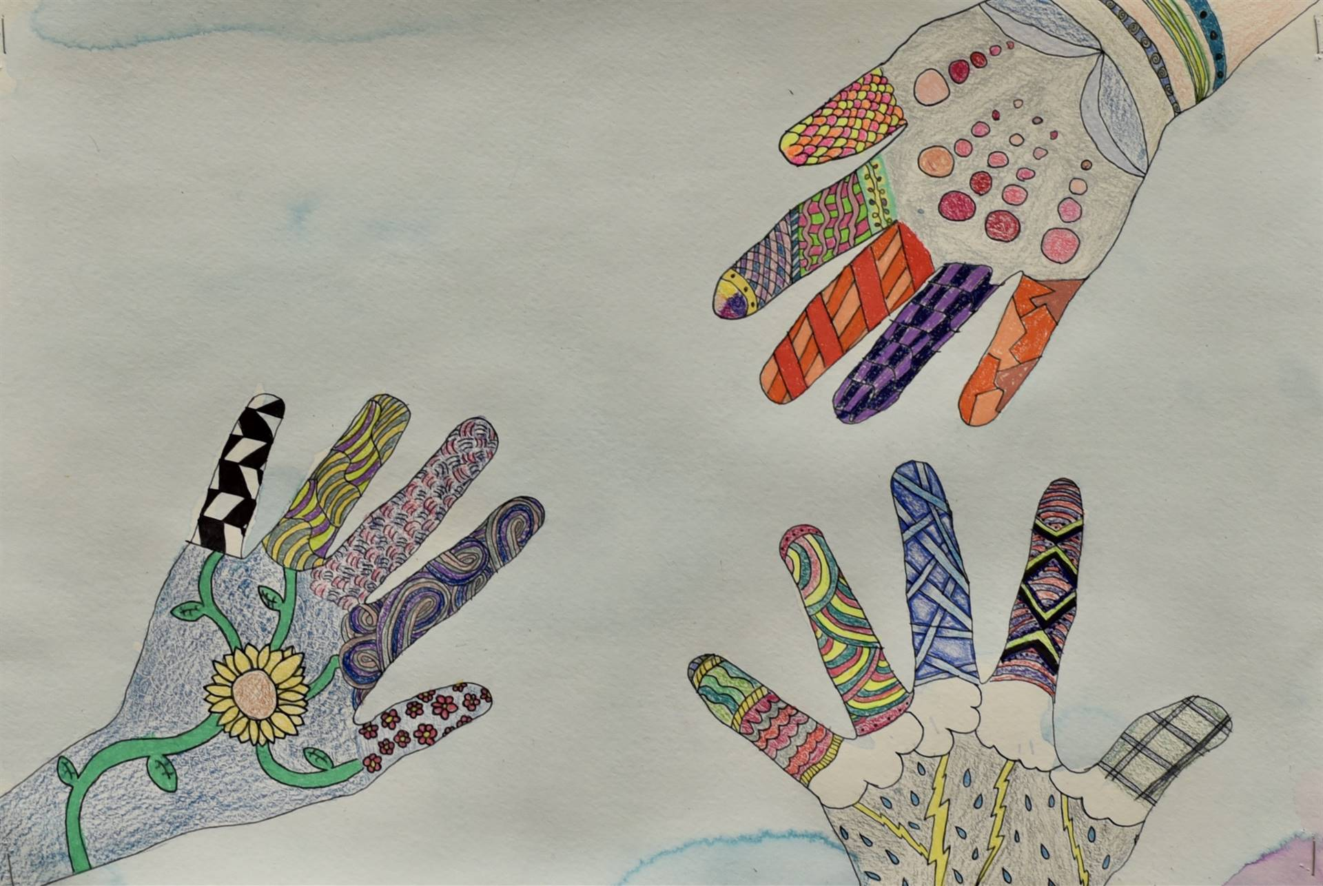 Brecksville-Broadview Hts. Middle School Art Projects 50