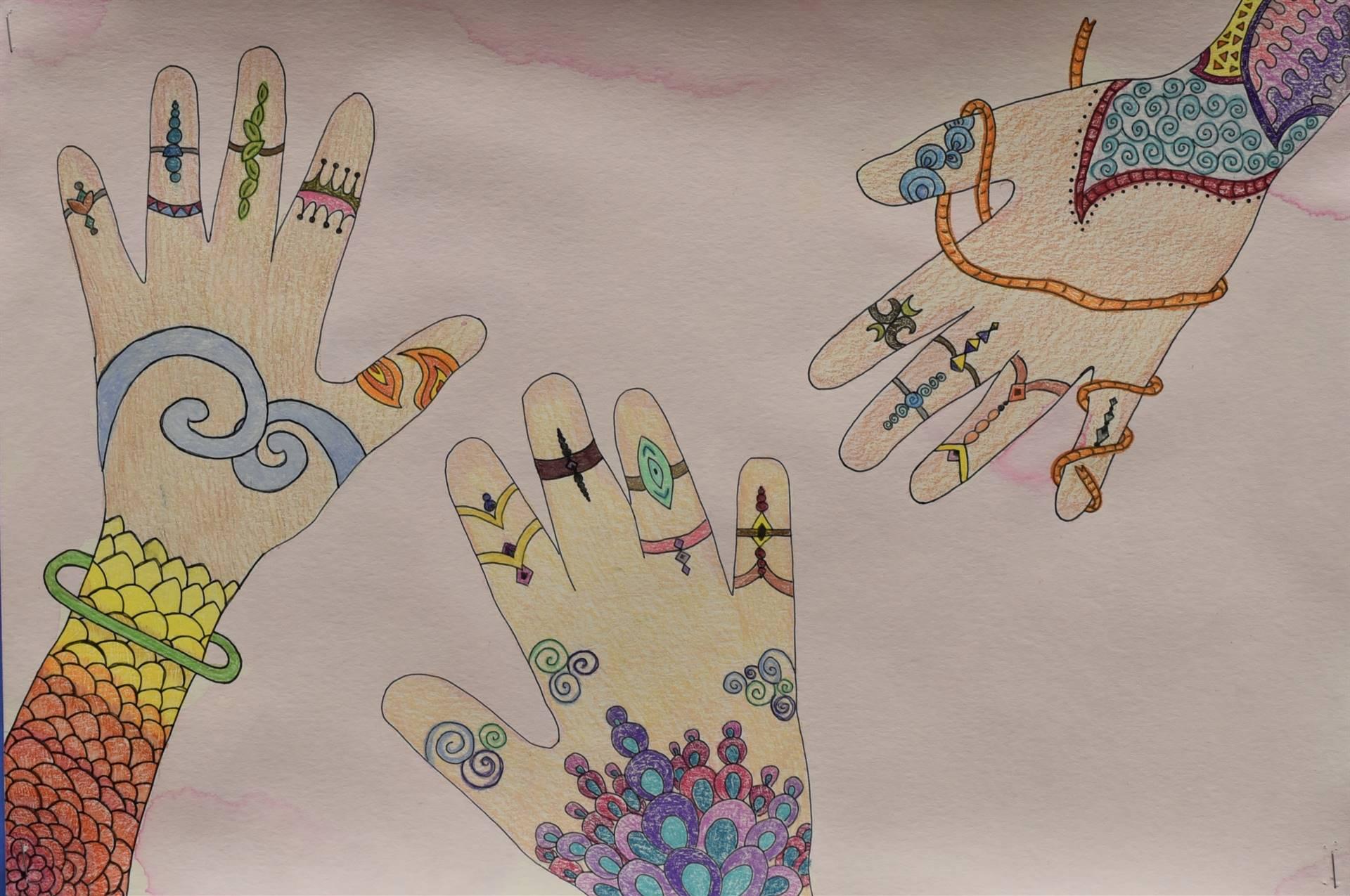 Brecksville-Broadview Hts. Middle School Art Projects 53