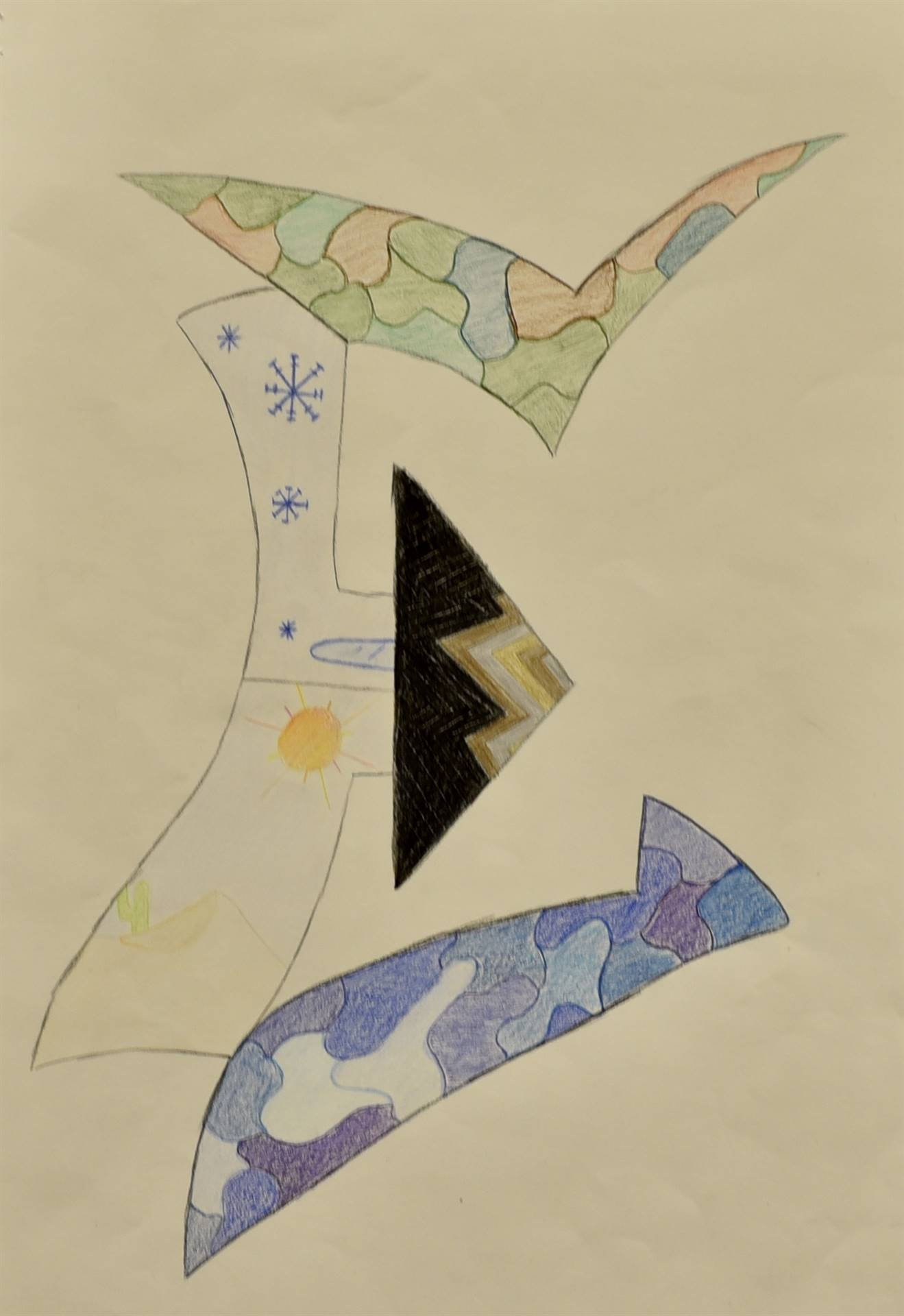 Brecksville-Broadview Hts. Middle School Art Projects 60