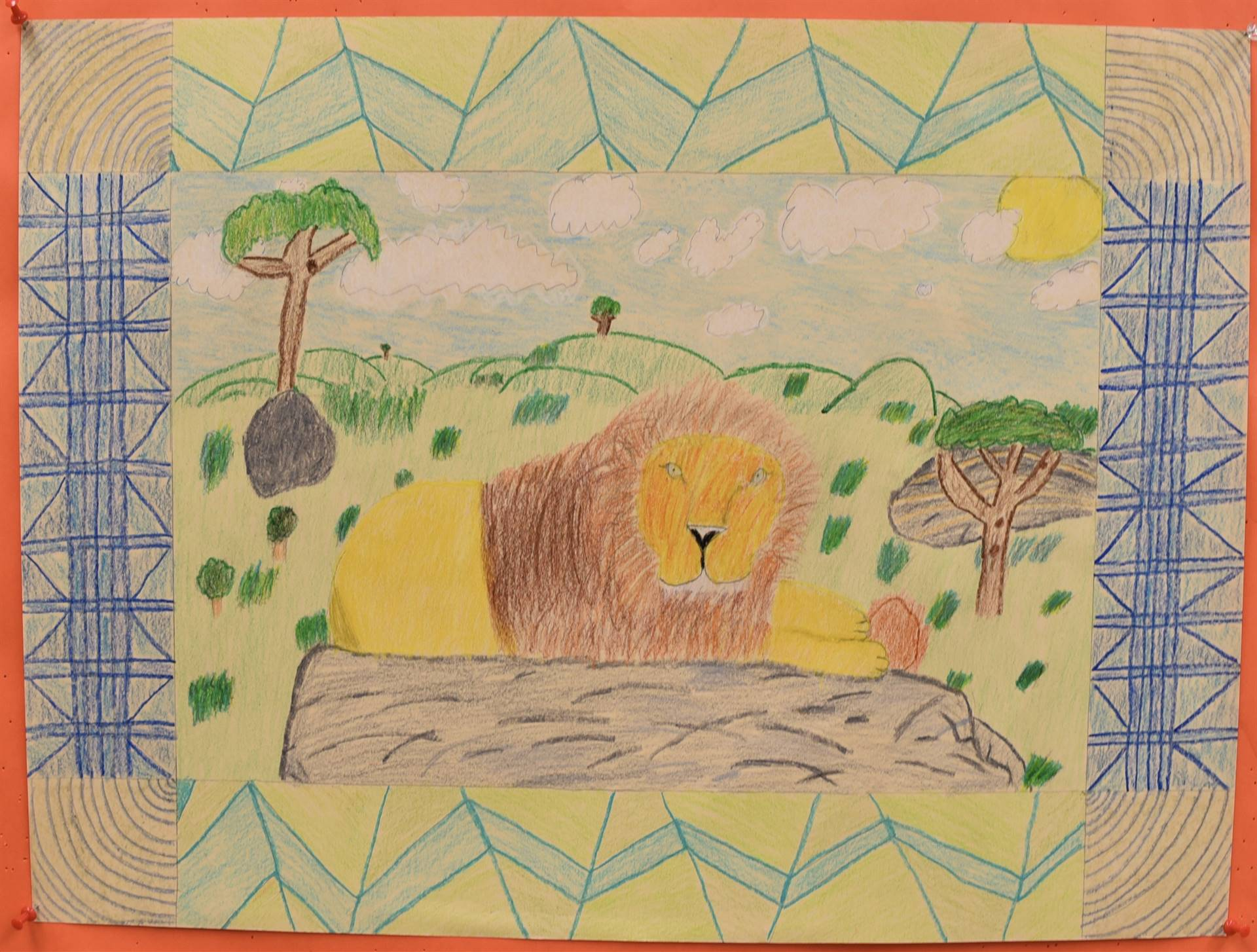 Brecksville-Broadview Hts. Middle School Art Projects 95