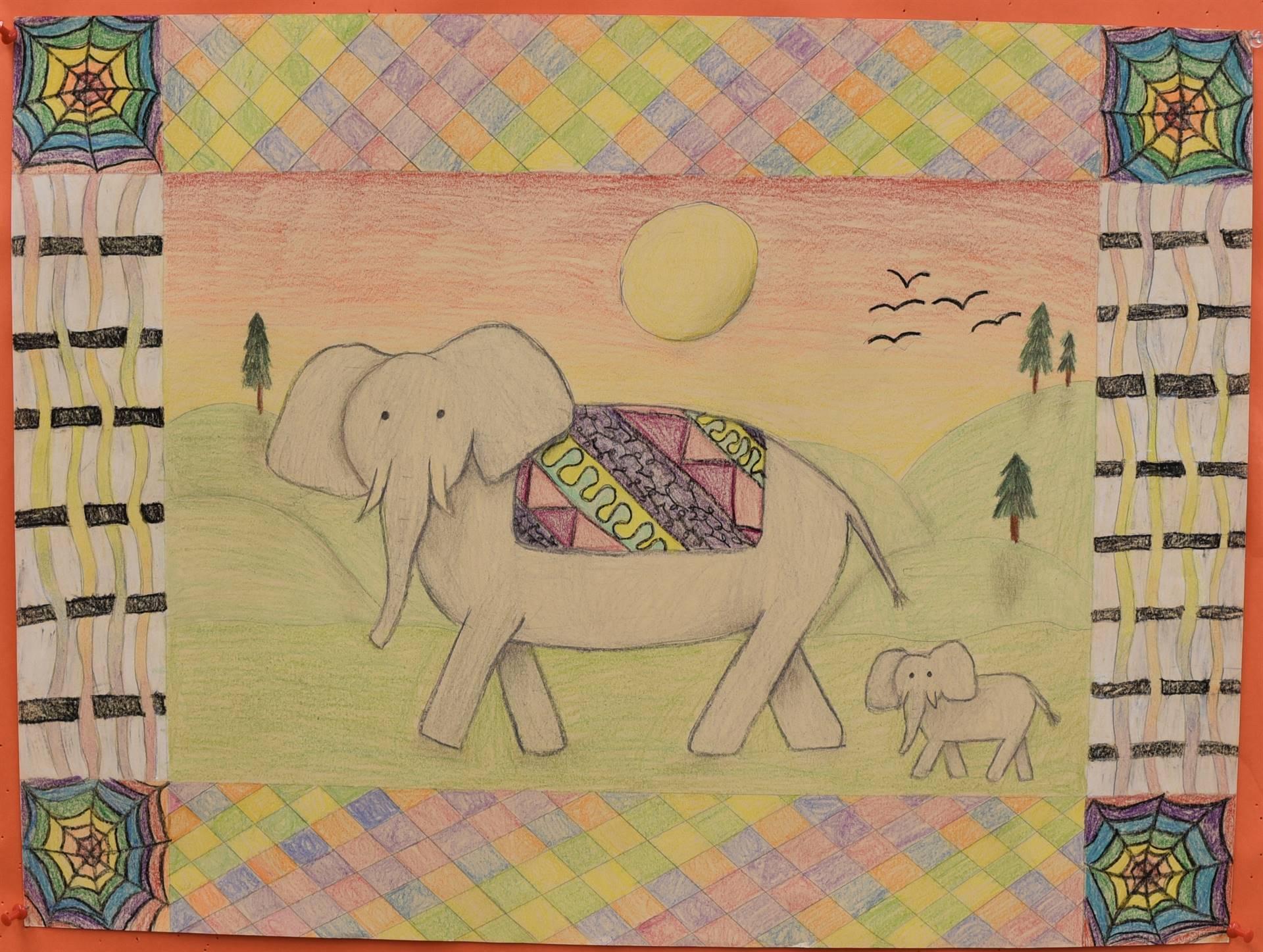 Brecksville-Broadview Hts. Middle School Art Projects 97