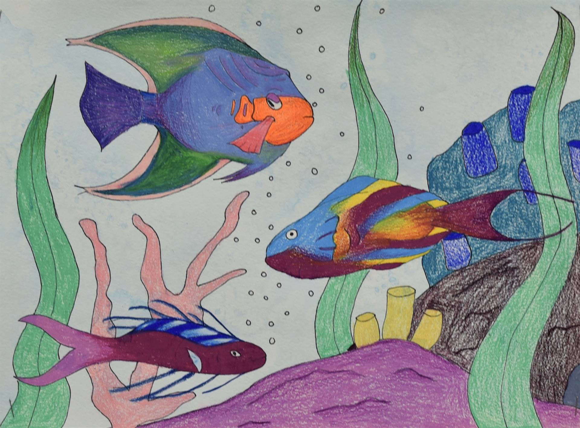 Brecksville-Broadview Hts. Middle School Art Projects 143