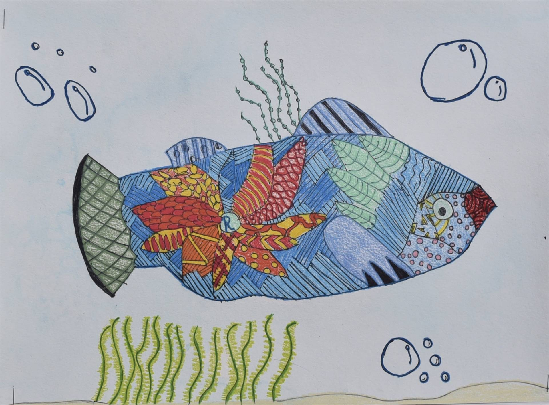 Brecksville-Broadview Hts. Middle School Art Projects 144
