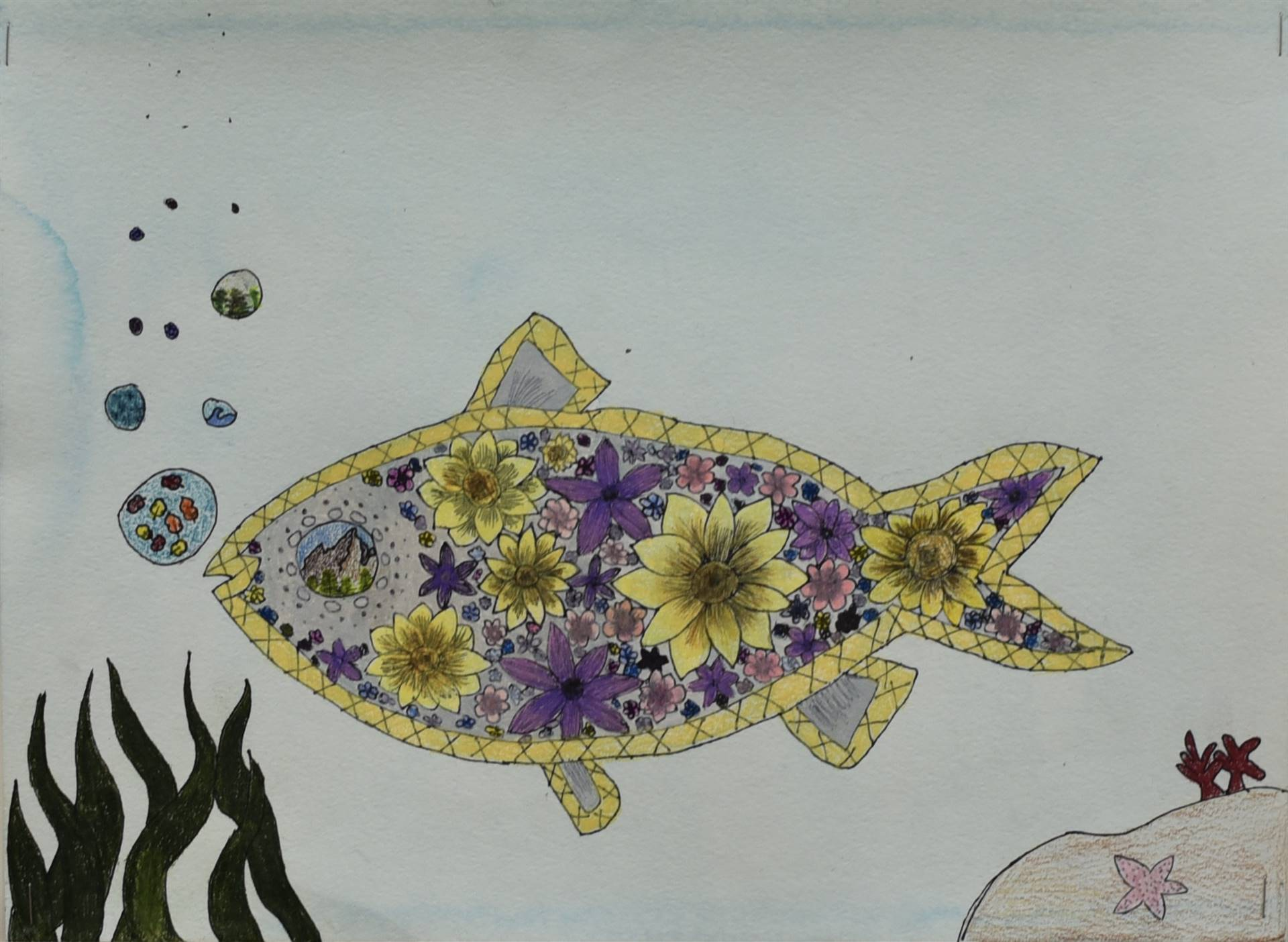 Brecksville-Broadview Hts. Middle School Art Projects 148