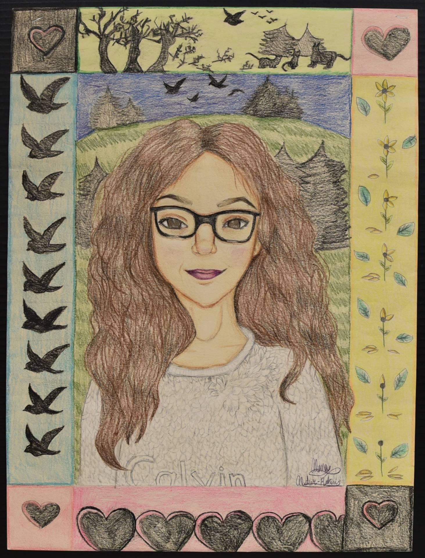Brecksville-Broadview Hts. Middle School Art Projects 150