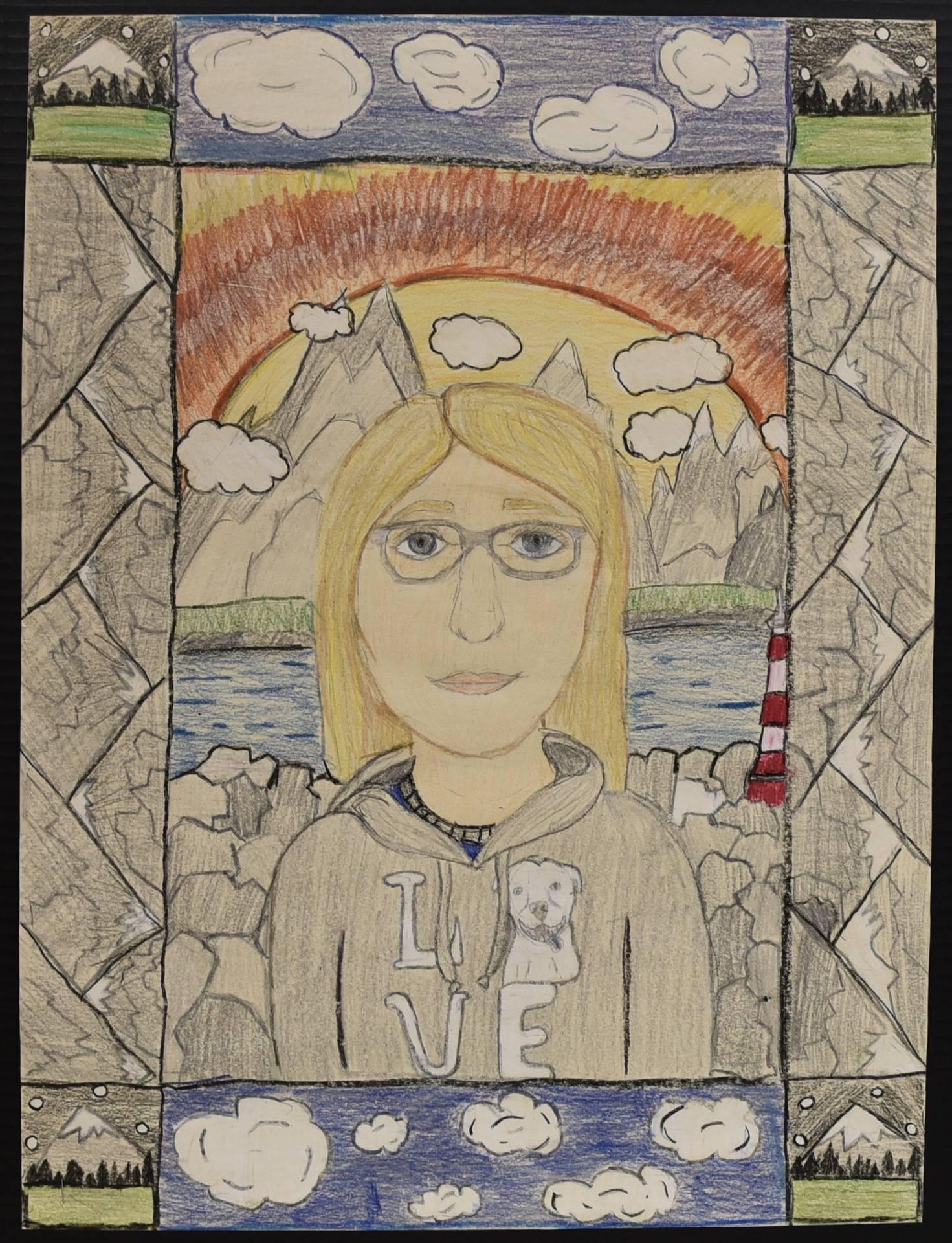 Brecksville-Broadview Hts. Middle School Art Projects 159
