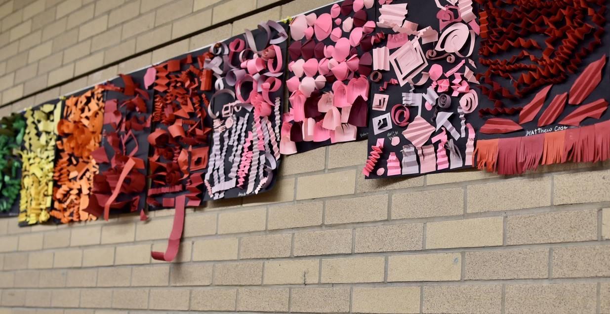 Brecksville-Broadview Hts. Middle School Art Projects 170