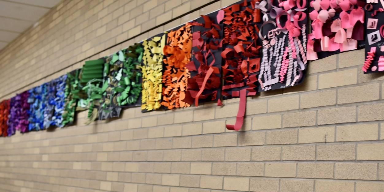 Brecksville-Broadview Hts. Middle School Art Projects 171