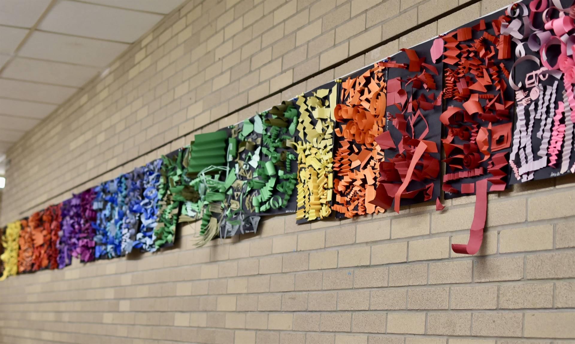 Brecksville-Broadview Hts. Middle School Art Projects 179