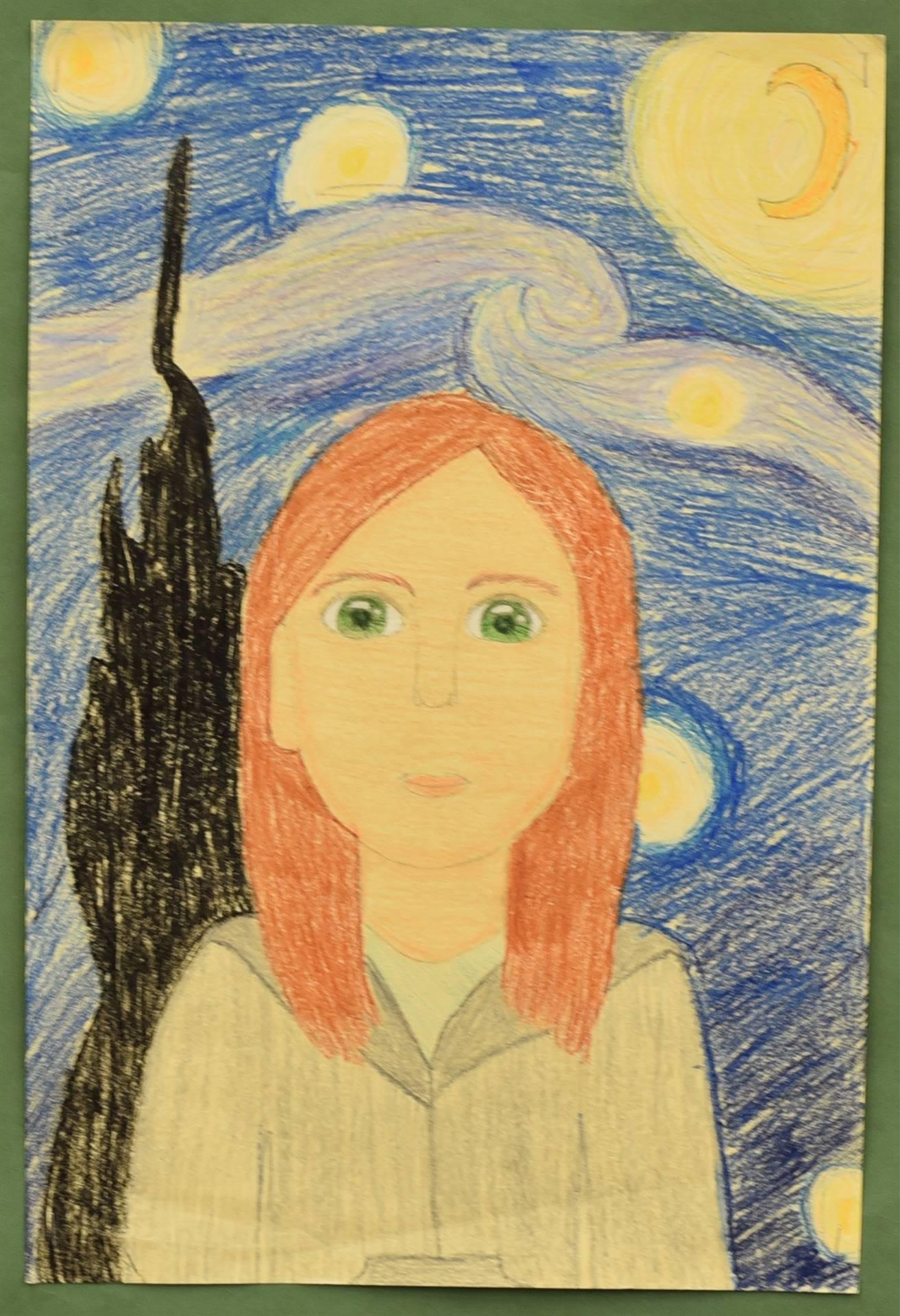 Brecksville-Broadview Hts. Middle School Art Projects 174