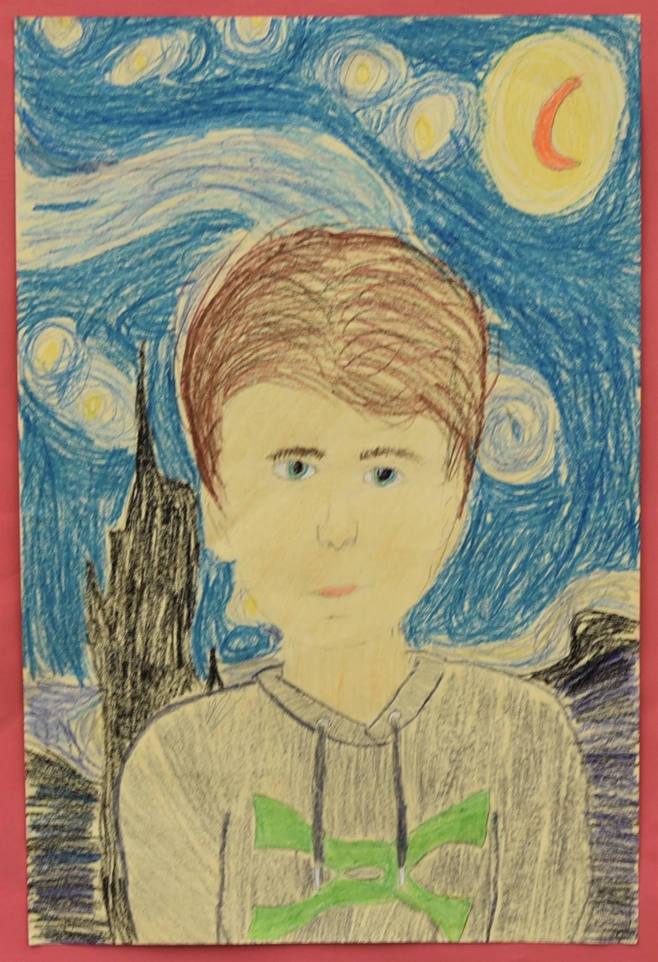 Brecksville-Broadview Hts. Middle School Art Projects 185